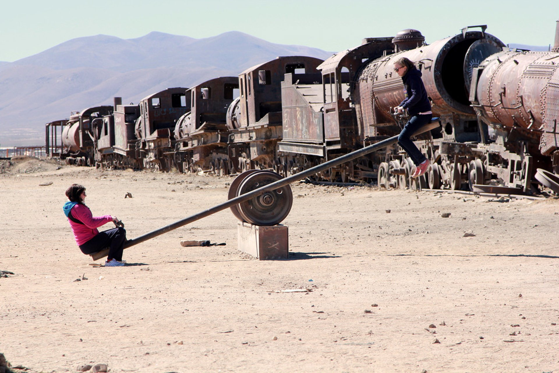 Best time for Train Cemetery in Bolivia
