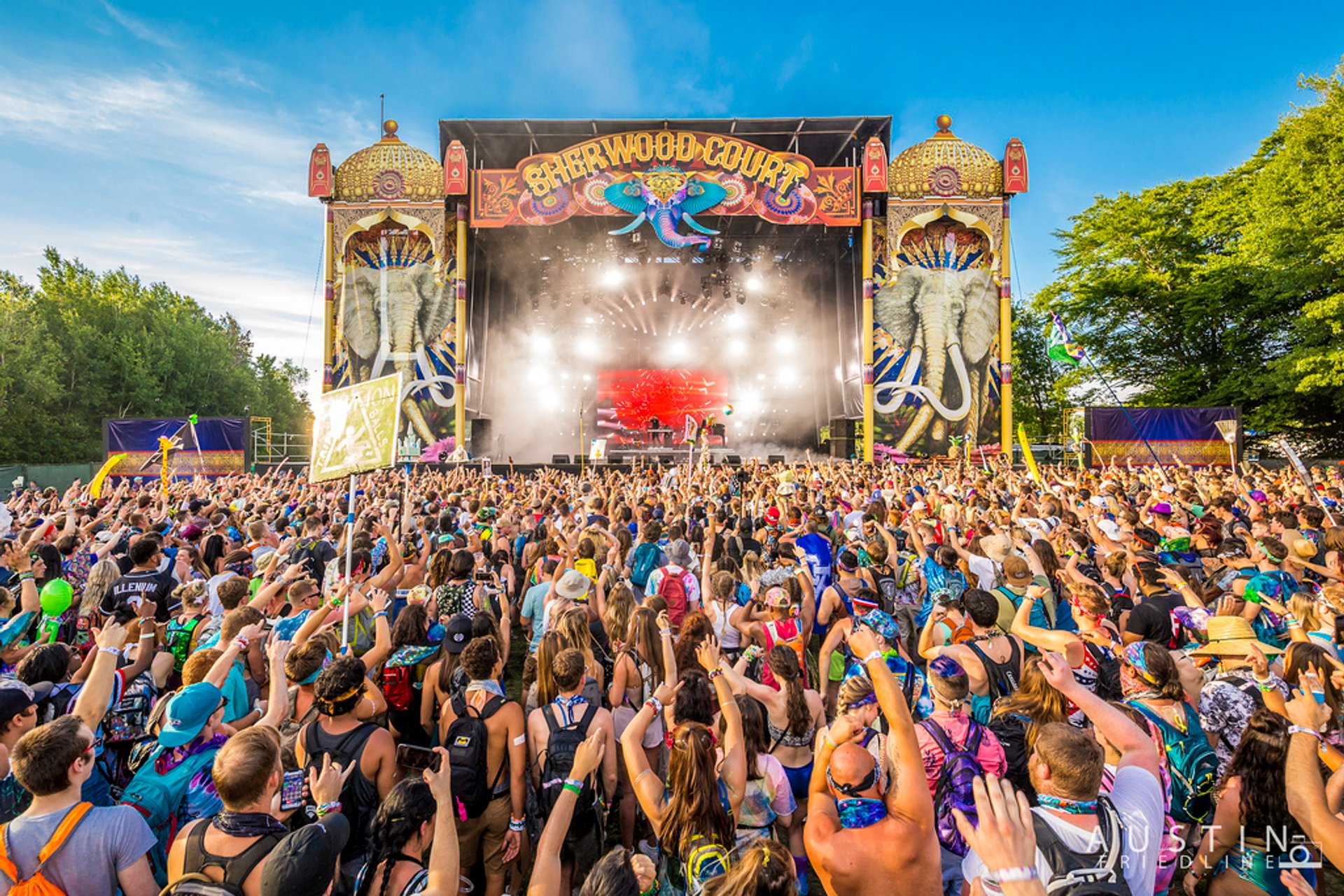 Electric Forest in Midwest 2020 - Best Time