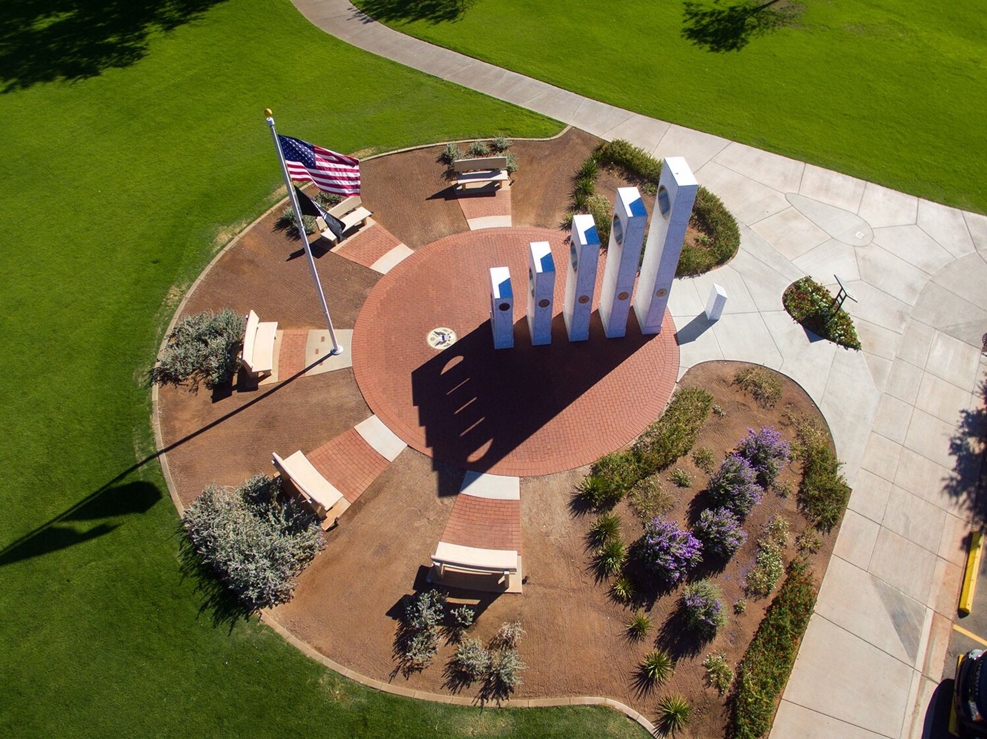 Solar Spotlight at the Anthem Veterans Memorial in Arizona - Best Season 2020
