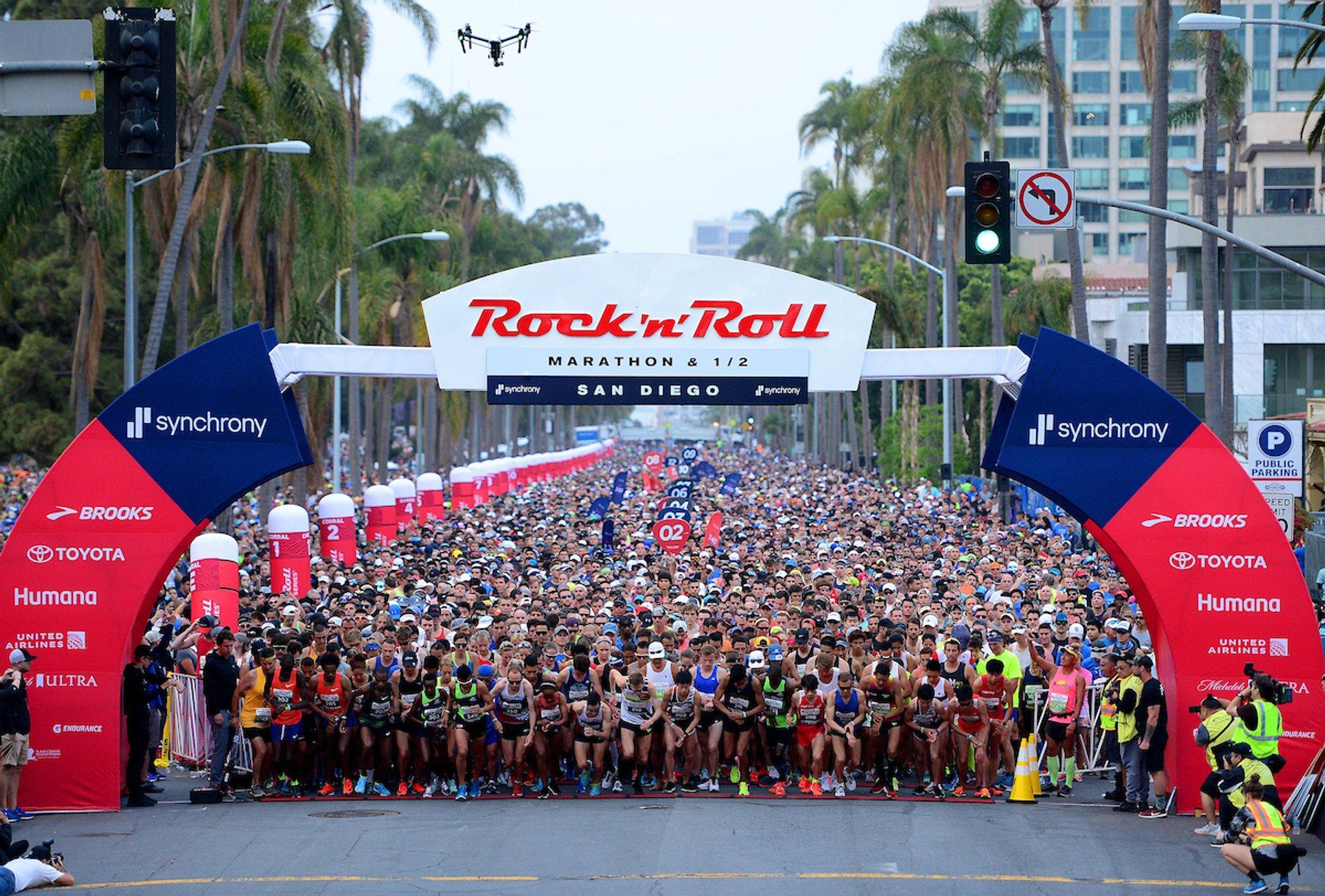 Rock'n'Roll San Diego Marathon & 1/2 Marathon in San Diego 2019 - Best Time