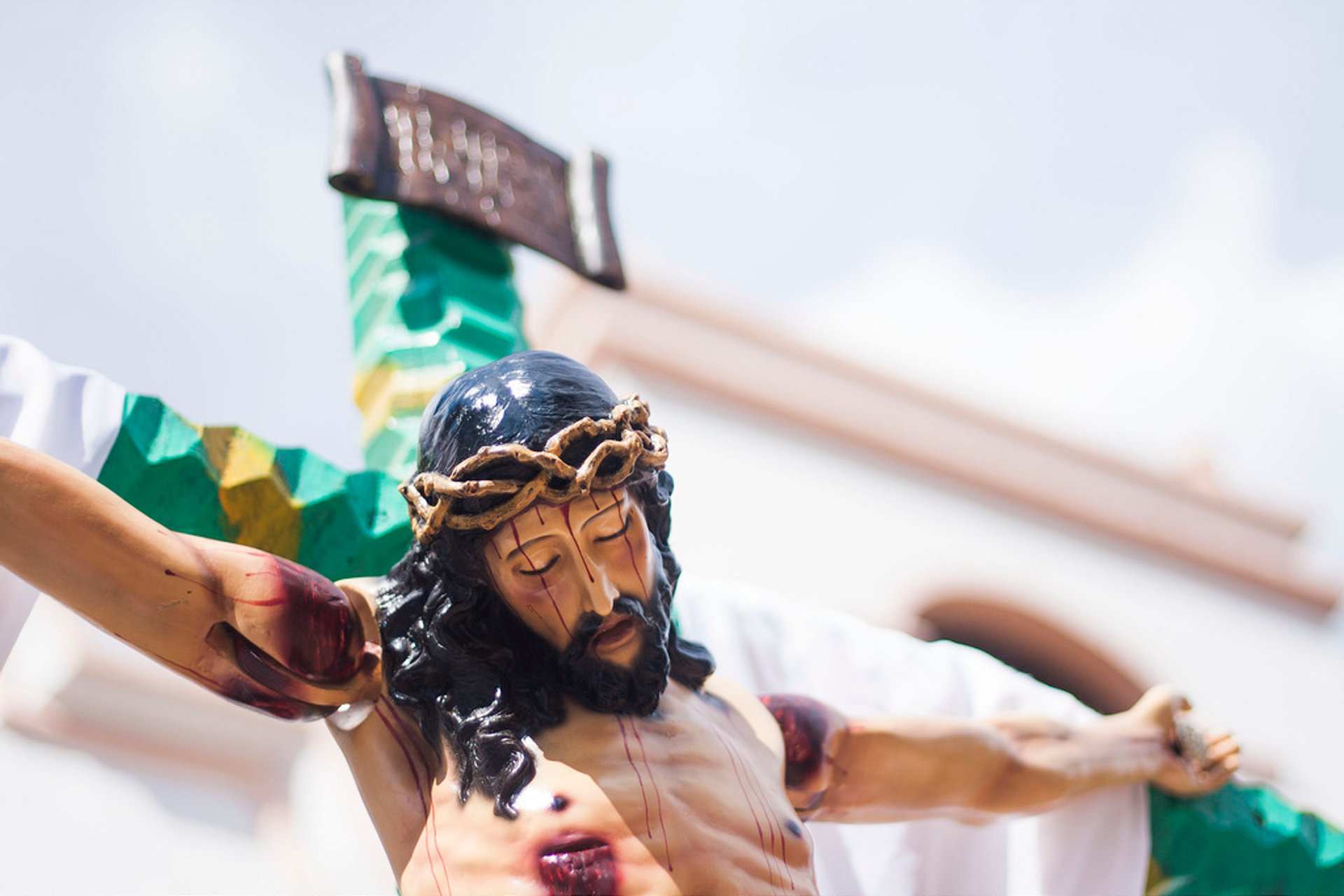 Crucified Jesus in Valle de Ángeles, Honduras 2020