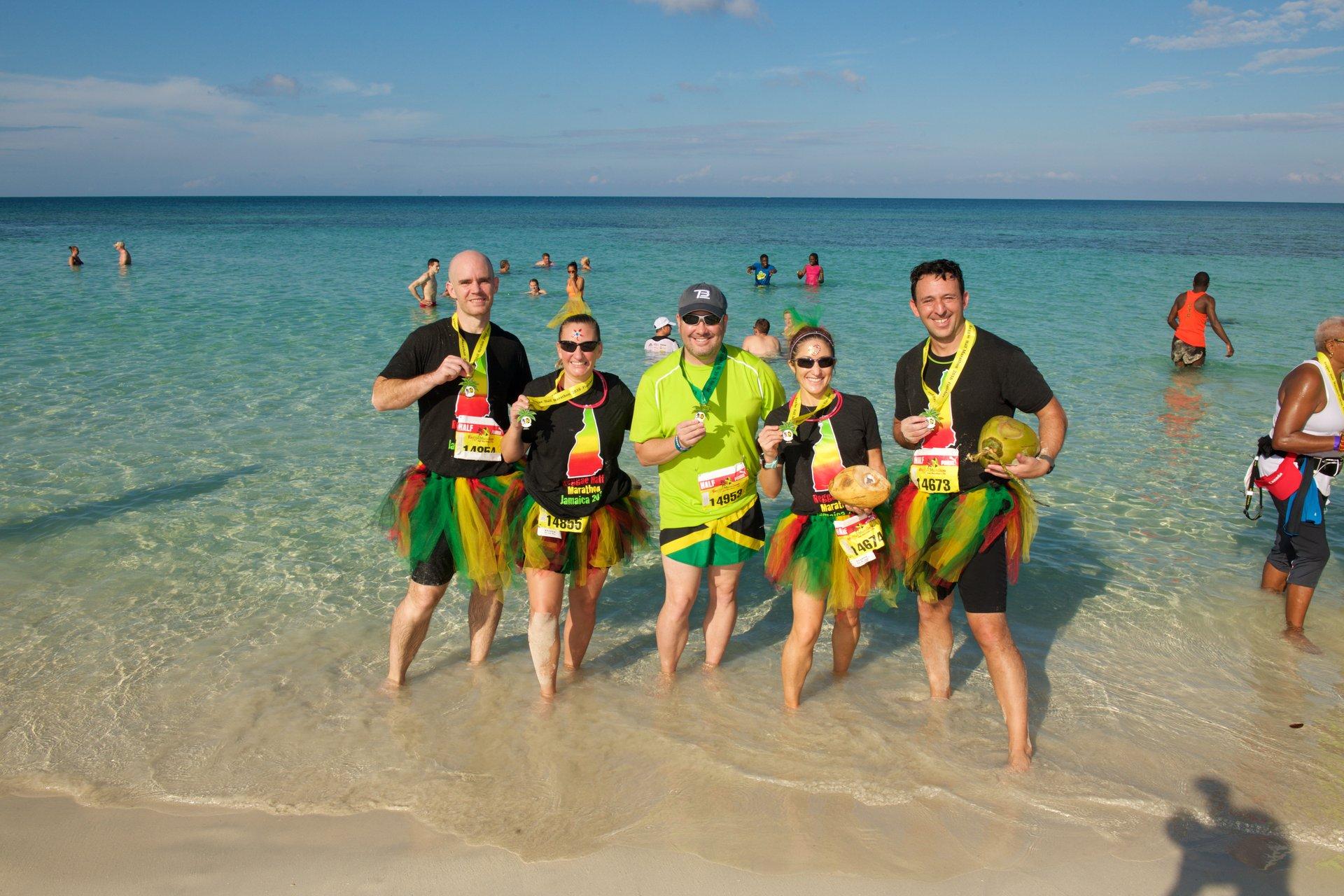 Best time for Reggae Marathon in Negril in Jamaica 2020