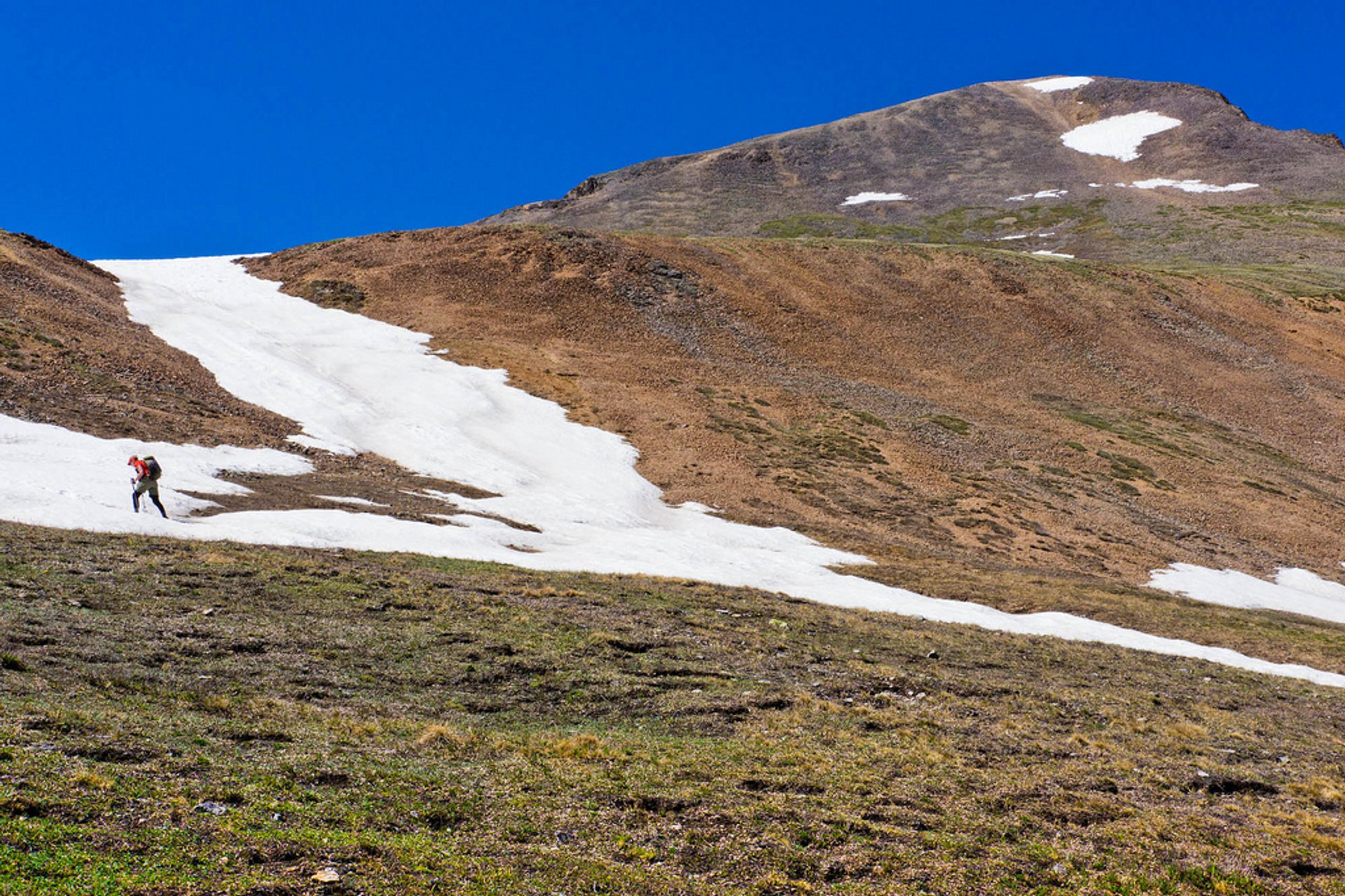 Seen from trail to Redcloud Peak (14,035 ft) in Colorado.