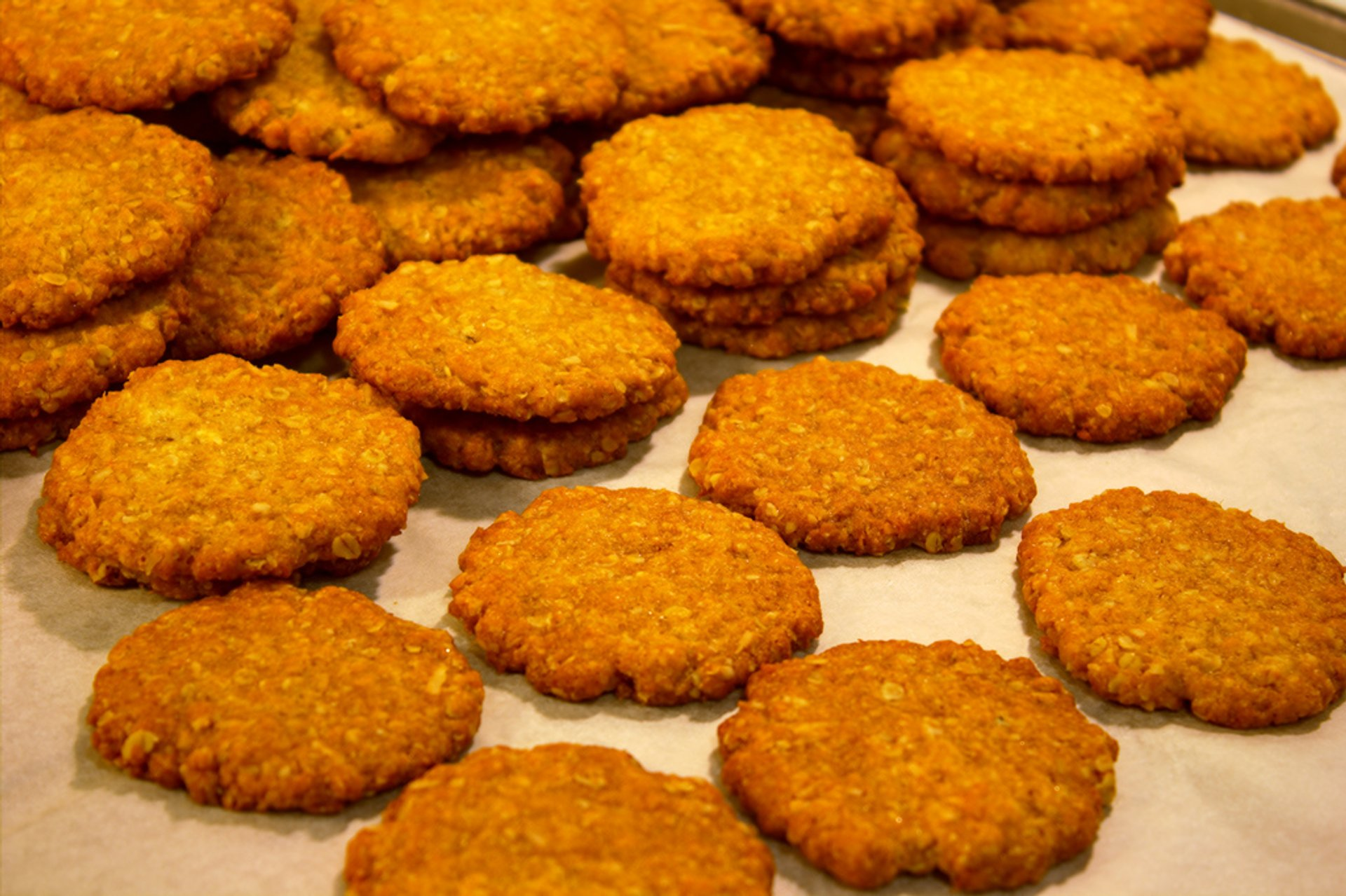 Anzac​ biscuits 2020