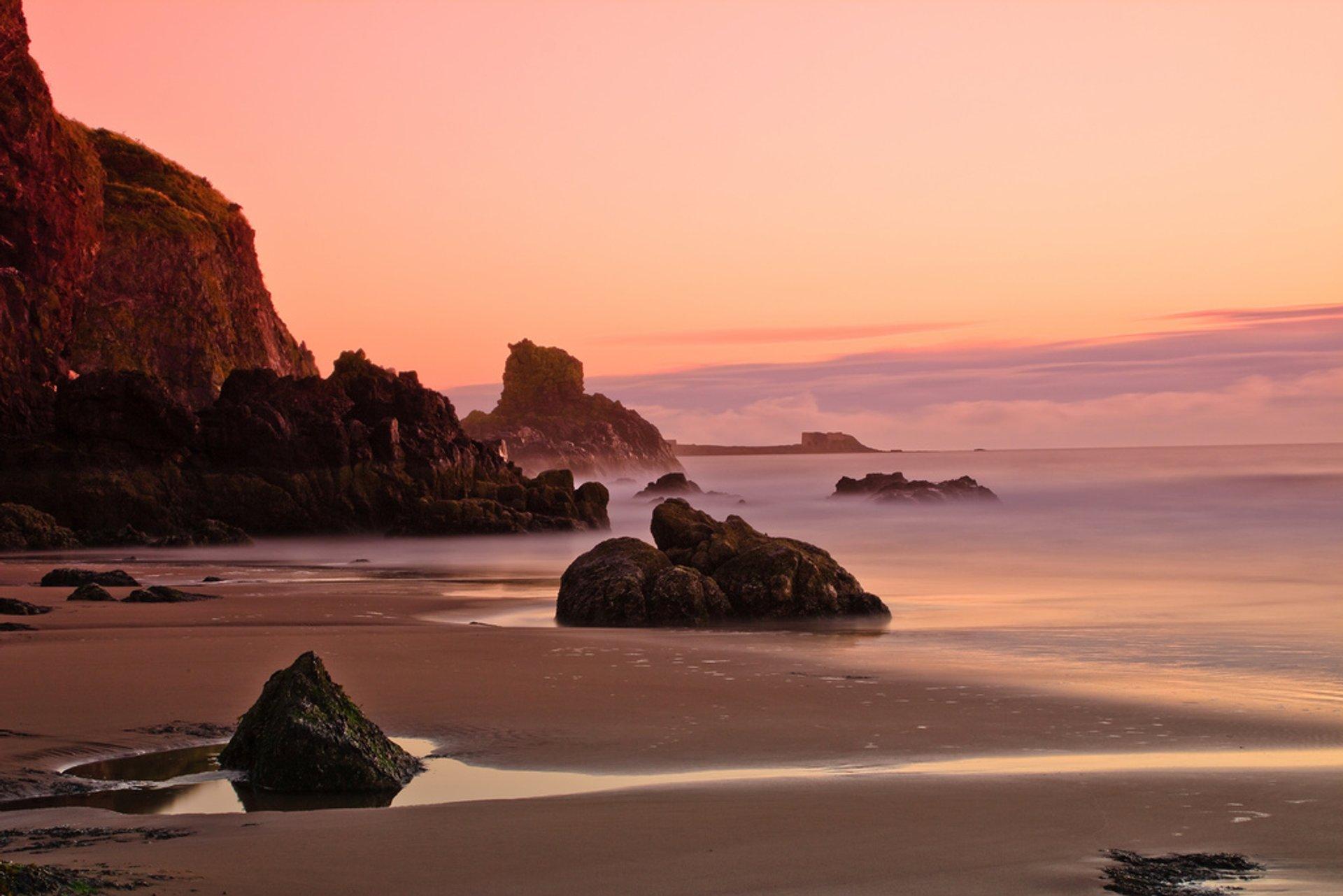 Lunan Bay Bathing Season in Scotland 2020 - Best Time
