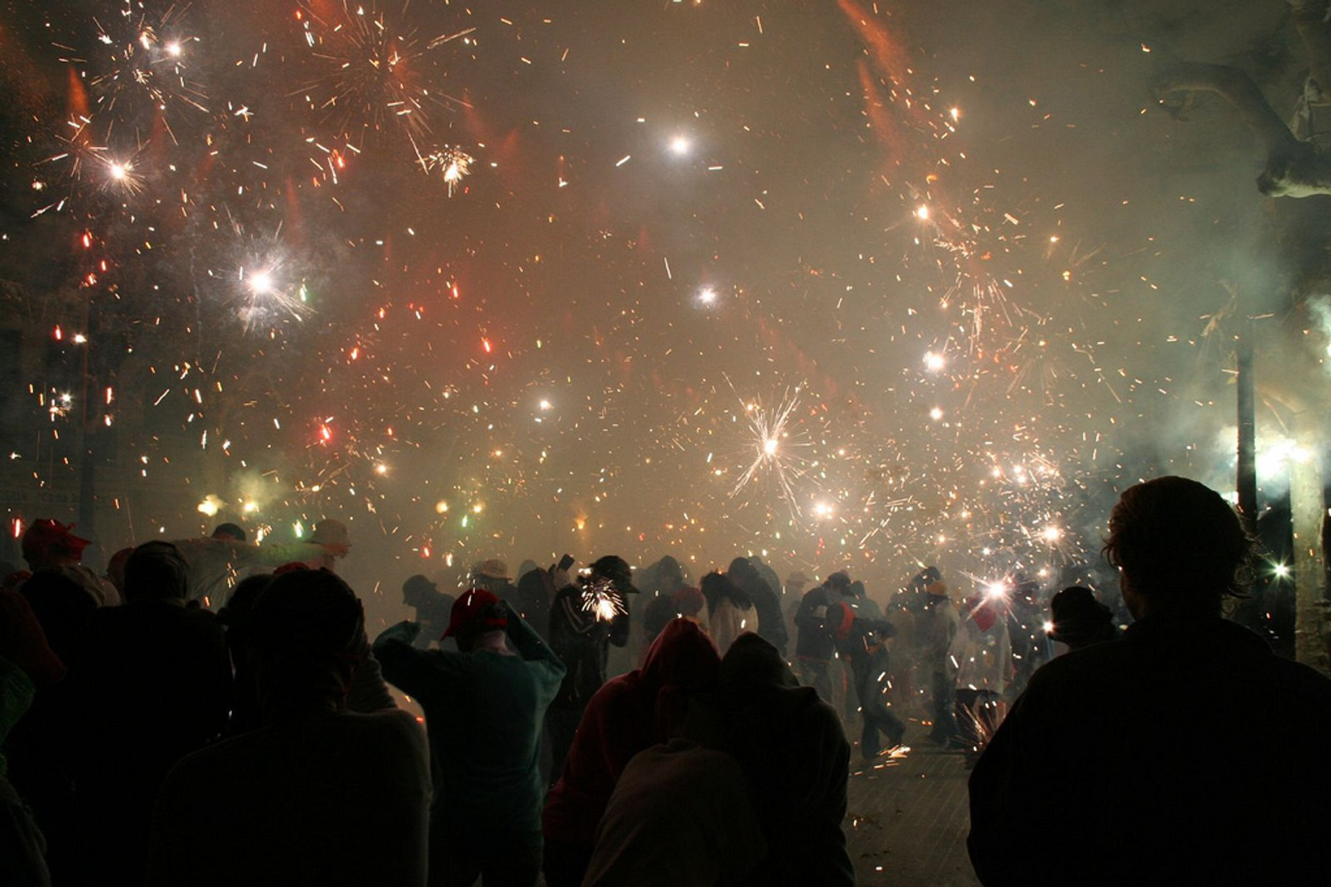 Best time to see Nit de Foc (Fire Night)  in Mallorca