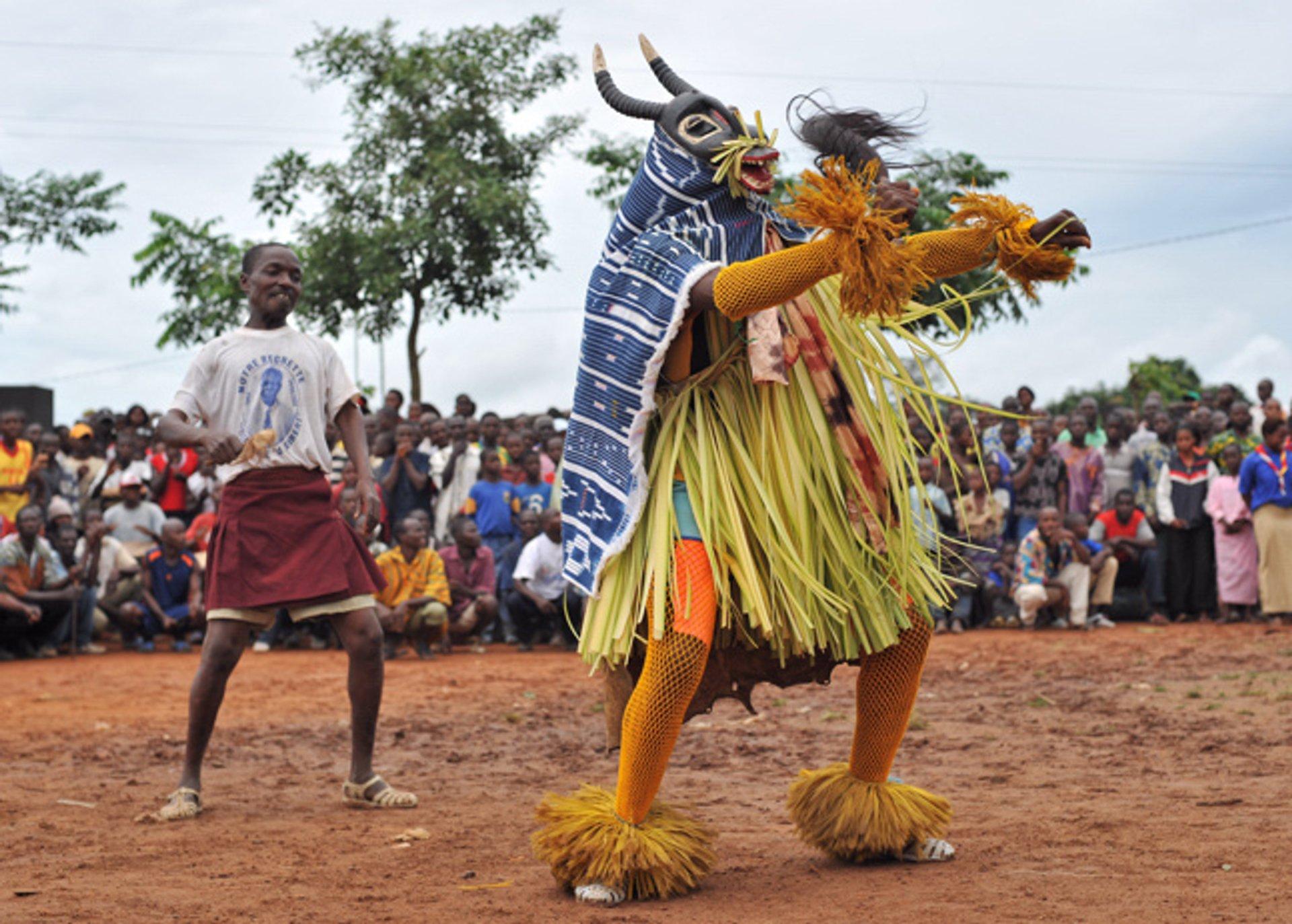 Zaouli Dance (Zaouli de Manfla) in Ivory Coast - Best Season 2020