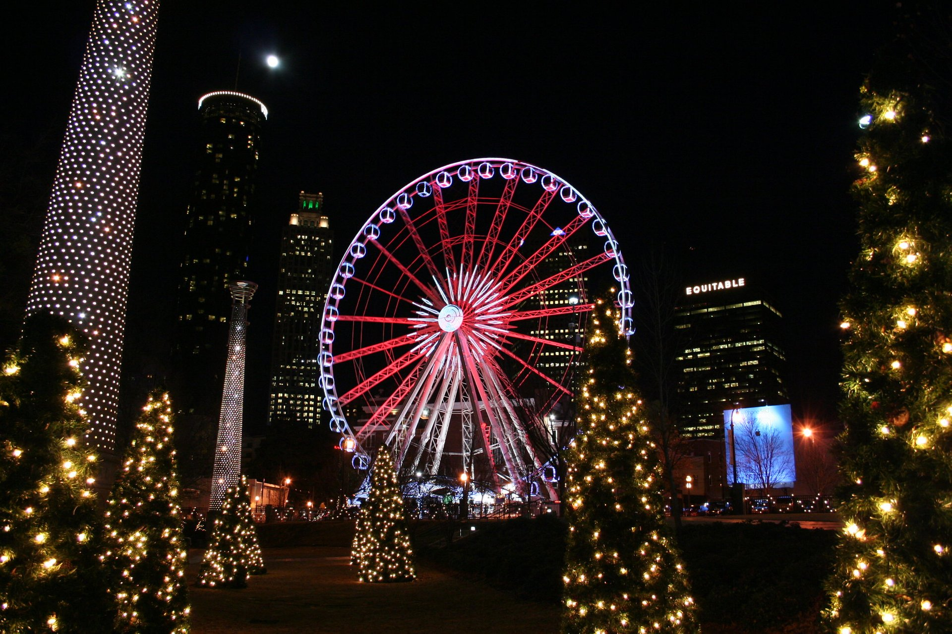 Christmas at Centennial Olympic Park 2020