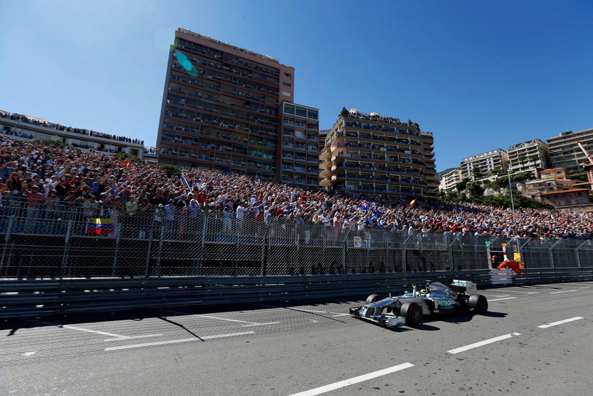 Best time to see F1 Monaco Grand Prix in Monaco 2019