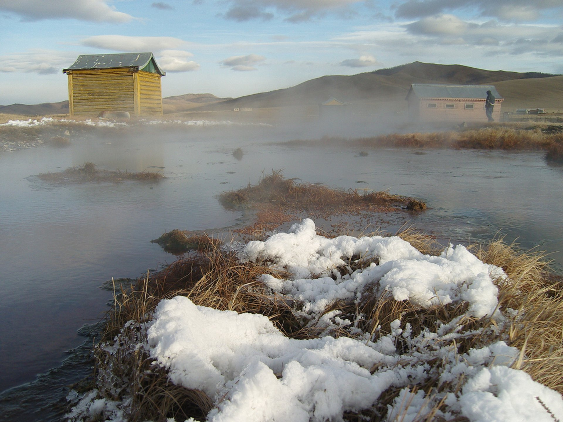 Hot Springs in Mongolia - Best Season 2020