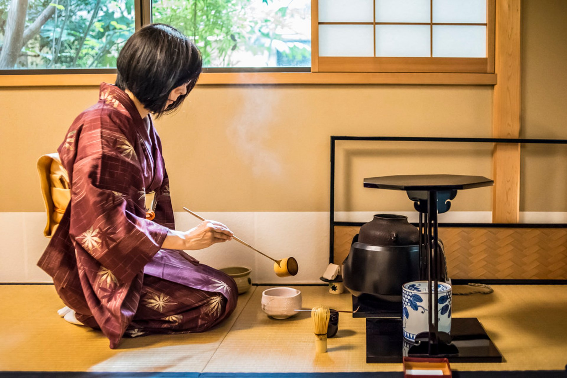 Best time for Tea Ceremony in Kyoto