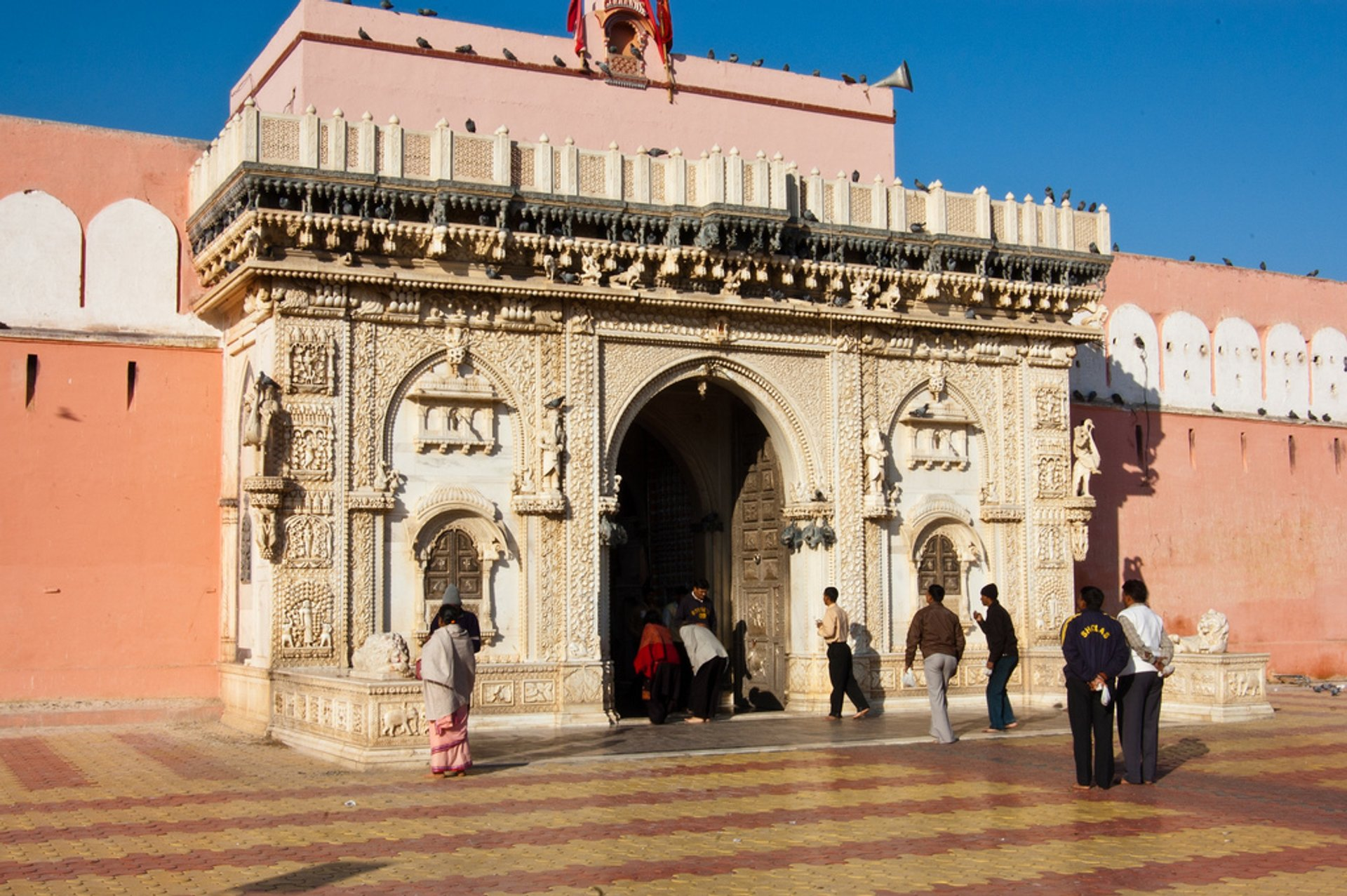 Entrance to Karni Mata Temple 2020