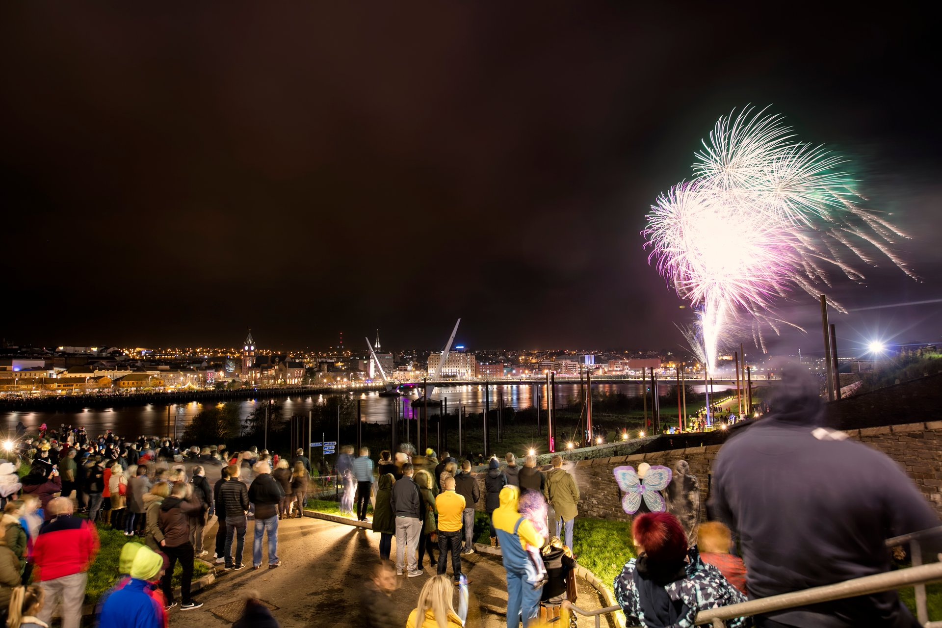 Fireworks of Derry Halloween 2020