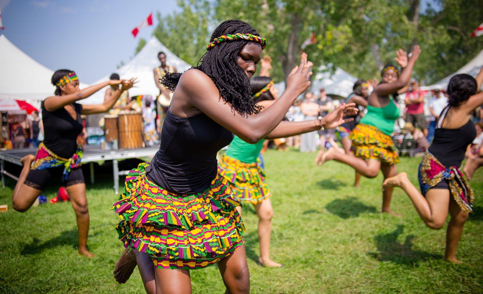 Edmonton Heritage Festival in Edmonton - Best Time