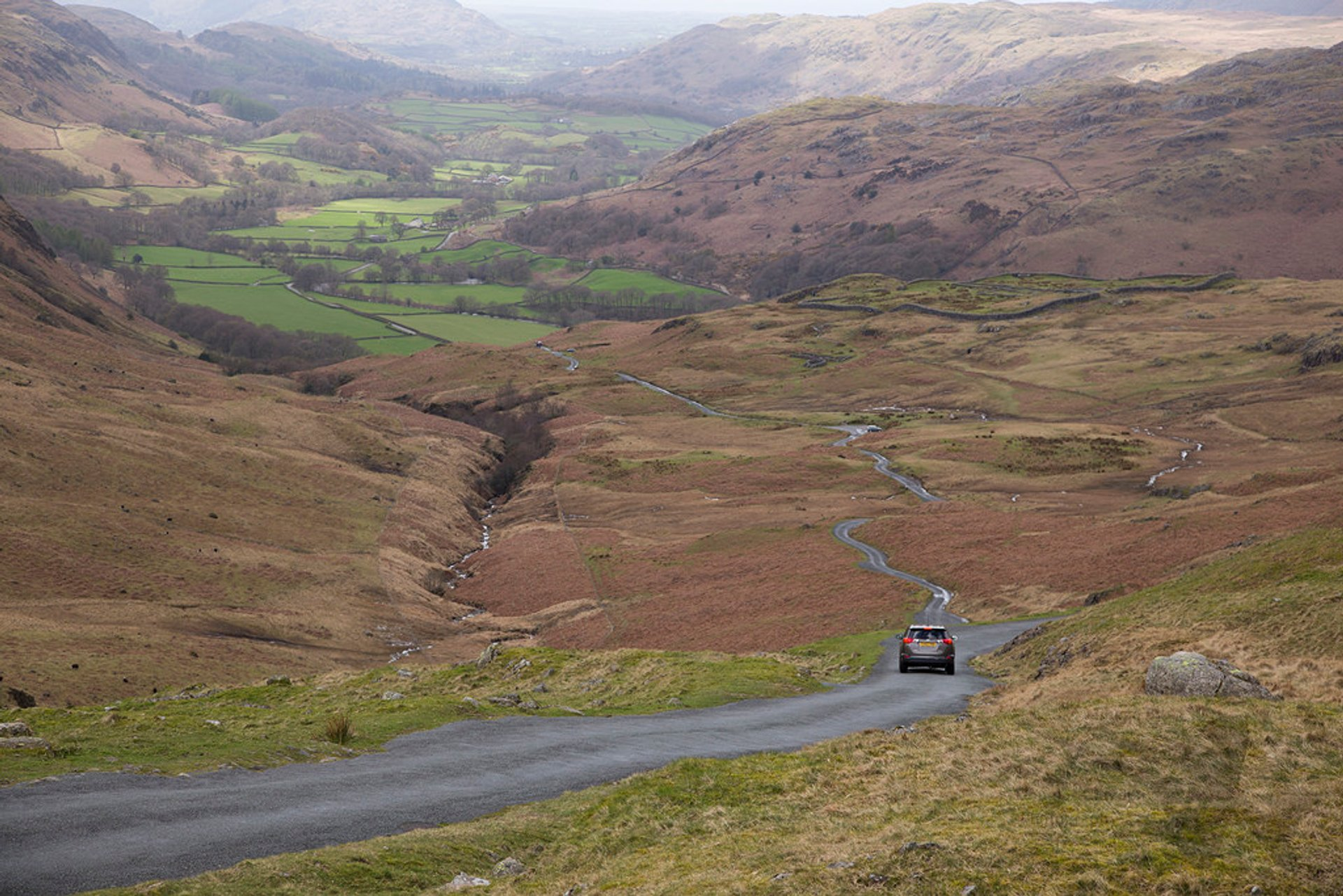 Hardknott Pass in England - Best Season 2020