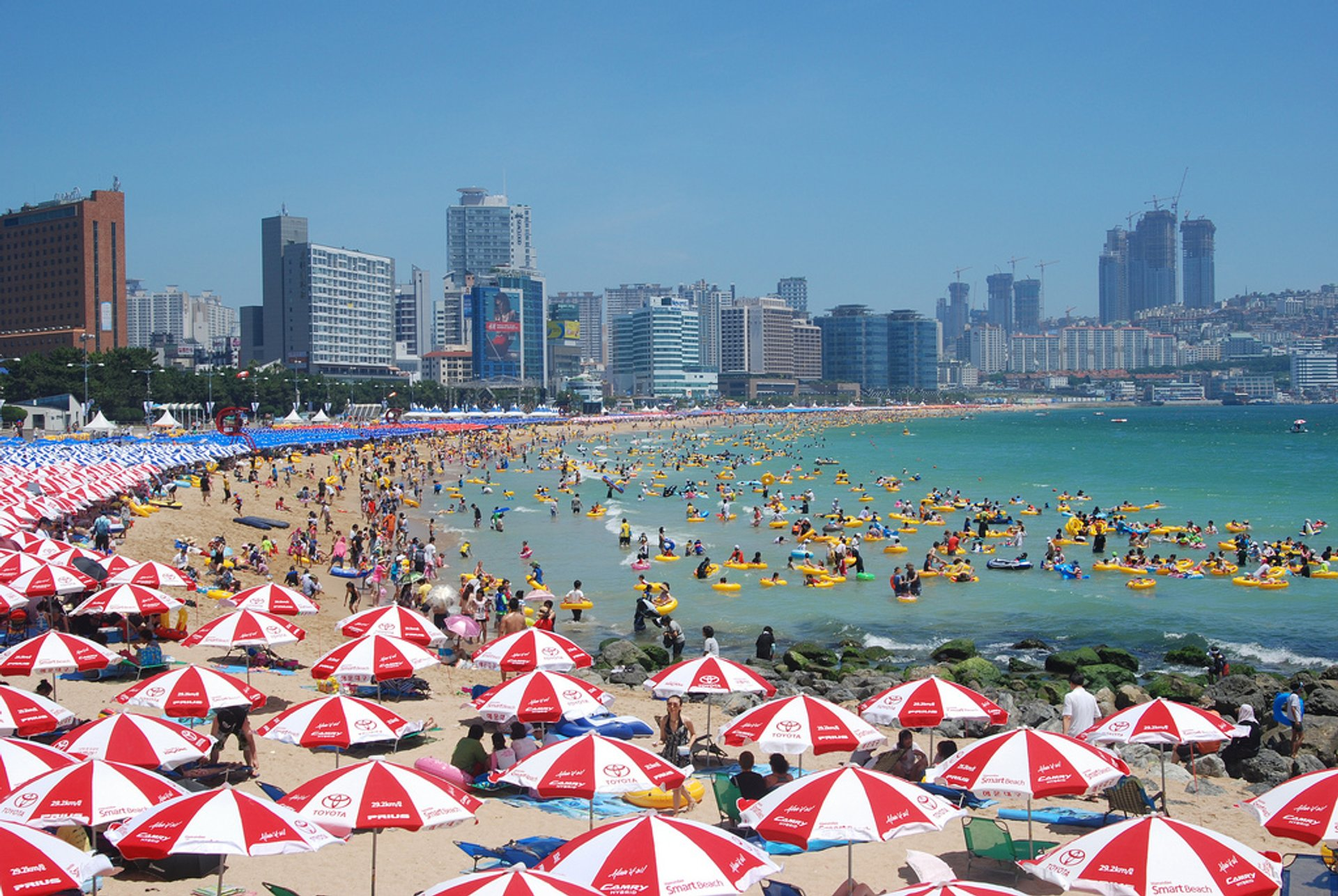 Beach Season in South Korea 2019 - Best Time