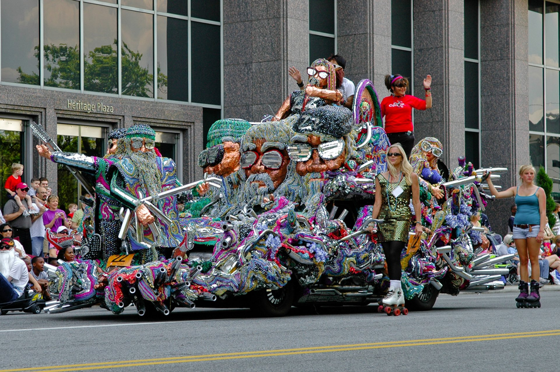 Houston Art Car Parade in Texas 2019 - Best Time