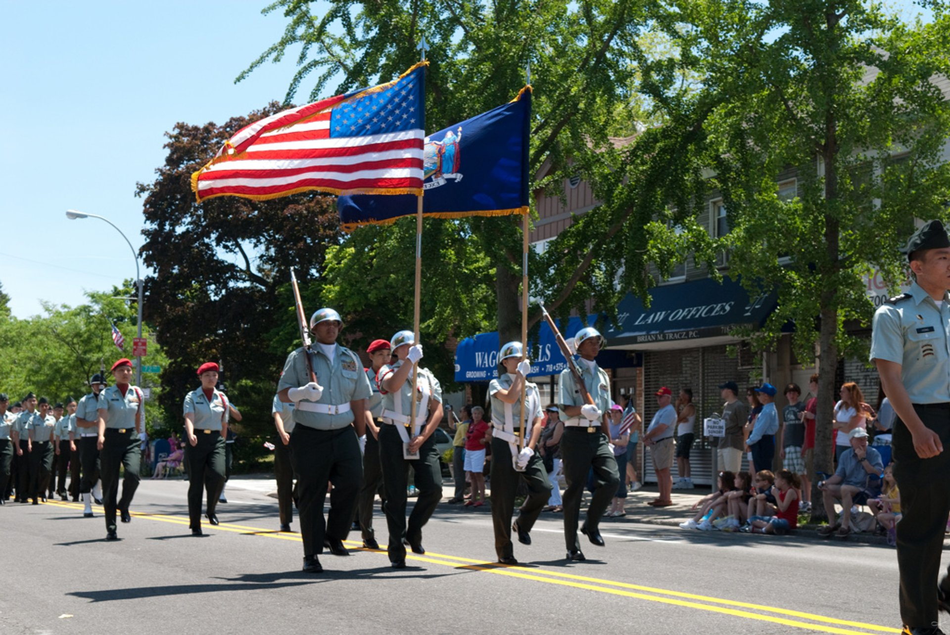 Forest Hills Memorial Day Parade, Queens NY 2020