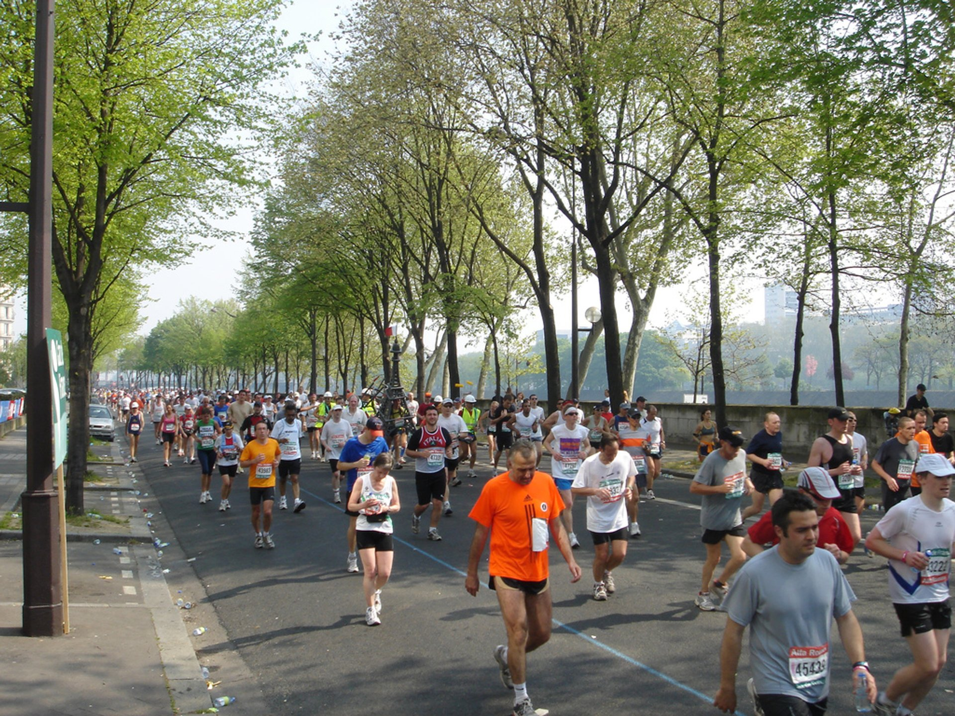 Best time to see Marathon de Paris in Paris 2020