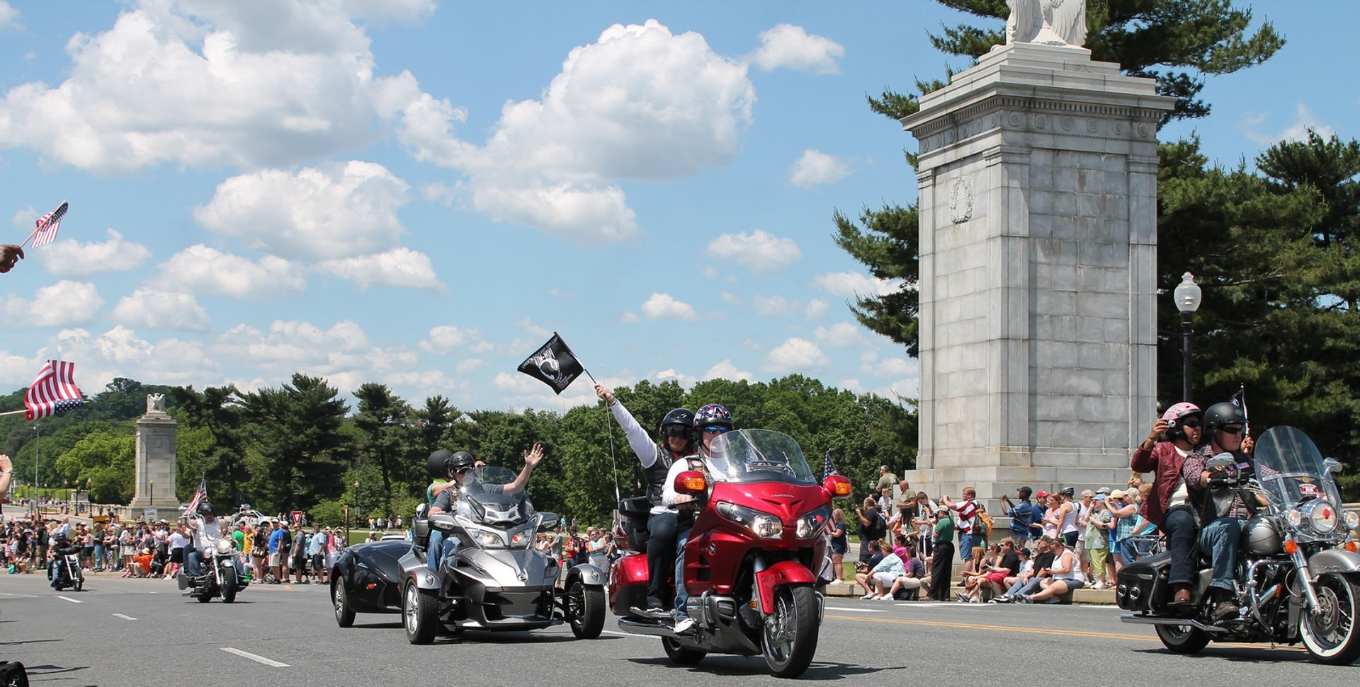 Best time for Rolling Thunder 'Ride for Freedom' in Washington, D.C. 2019