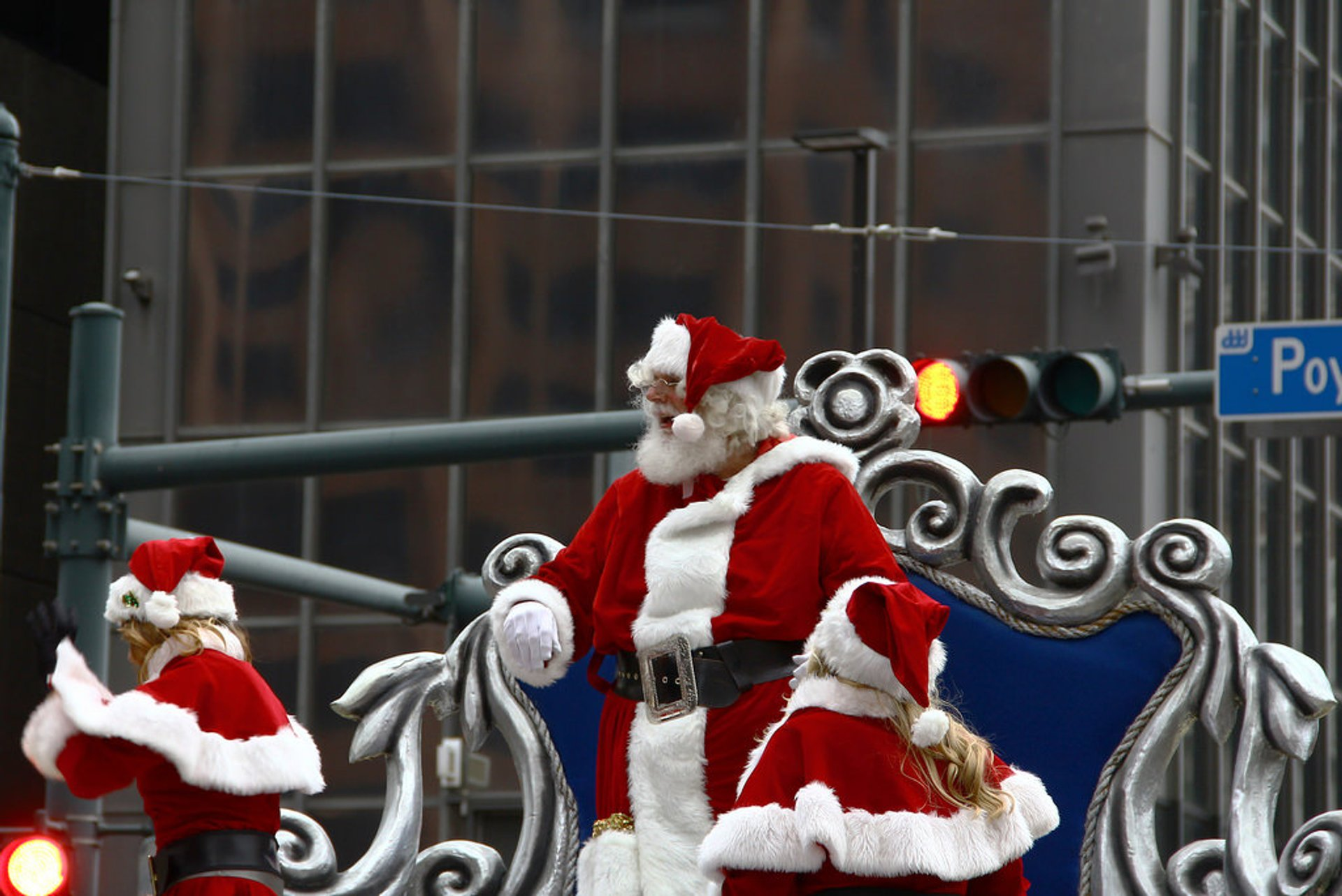 Santa and his helpers 2019