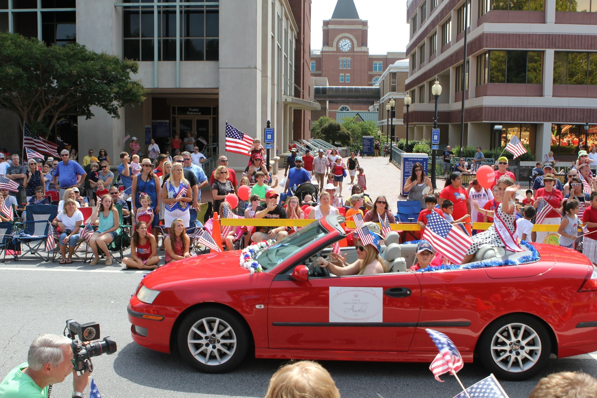 Marietta's July 4th Parade 2020