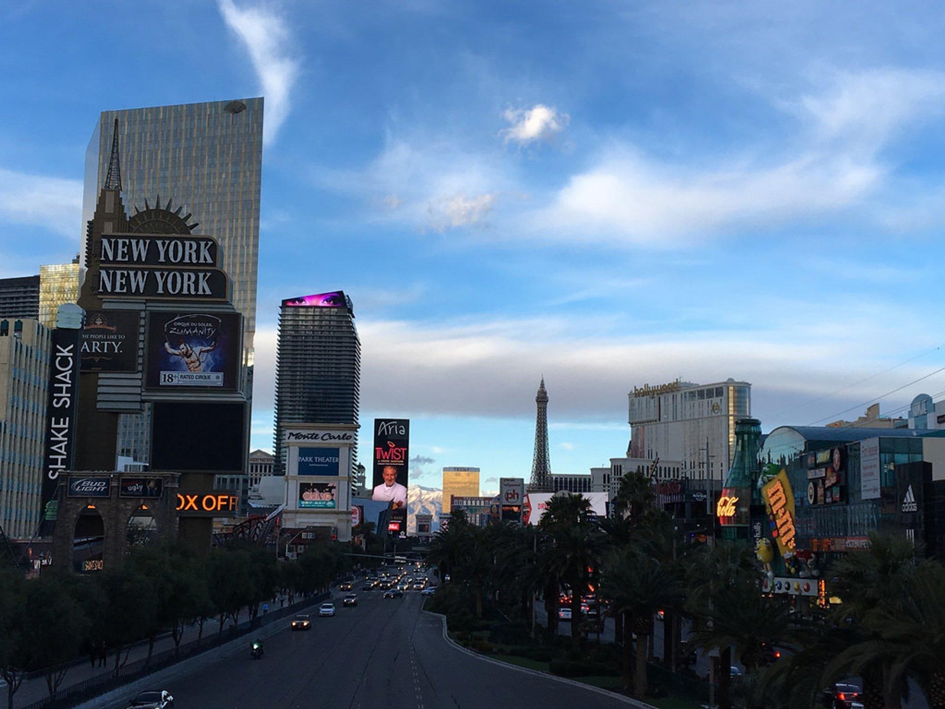 Winter in Las Vegas 2020 - Best Time