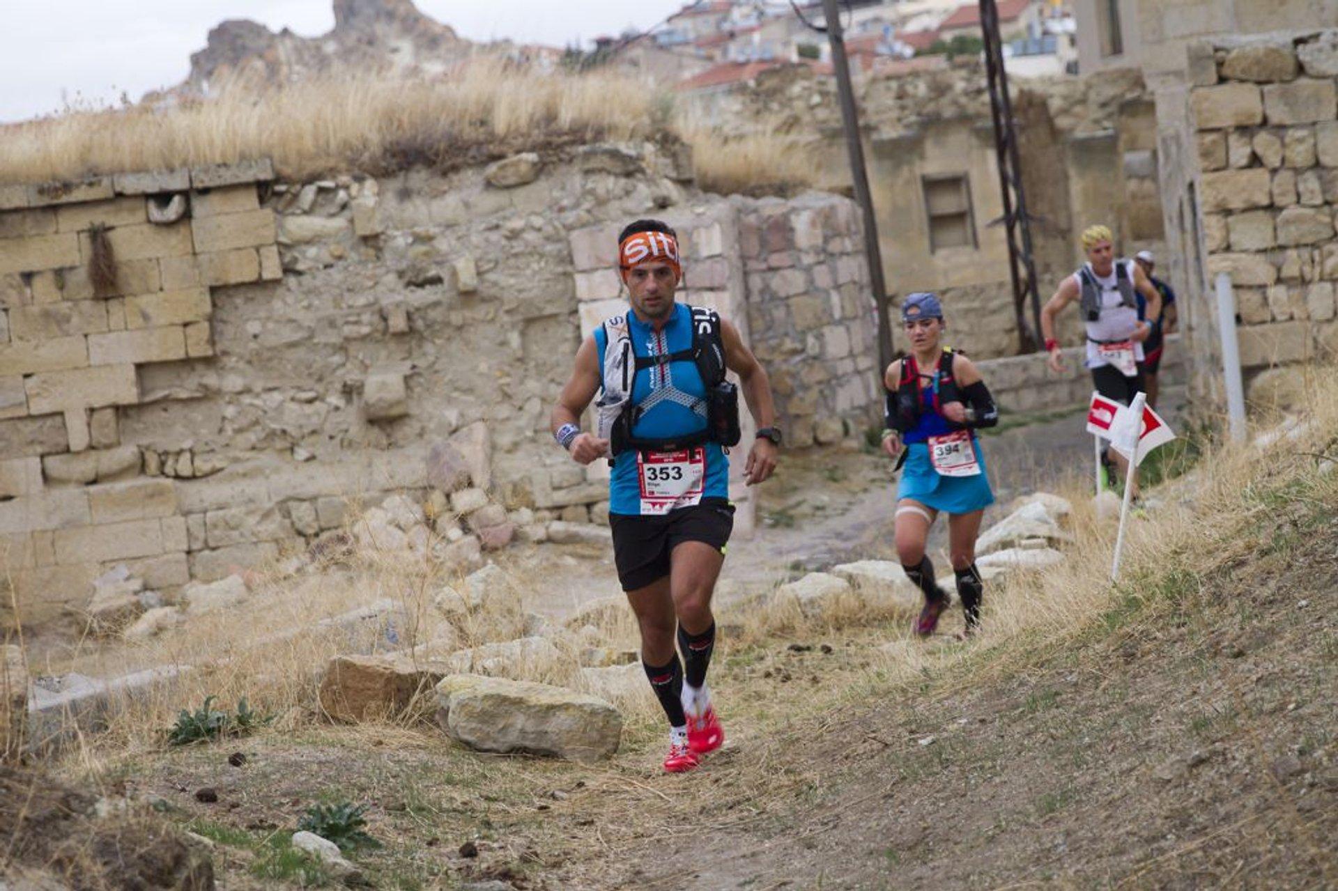 Best time for Cappadocia Ultra Trail in Cappadocia 2019