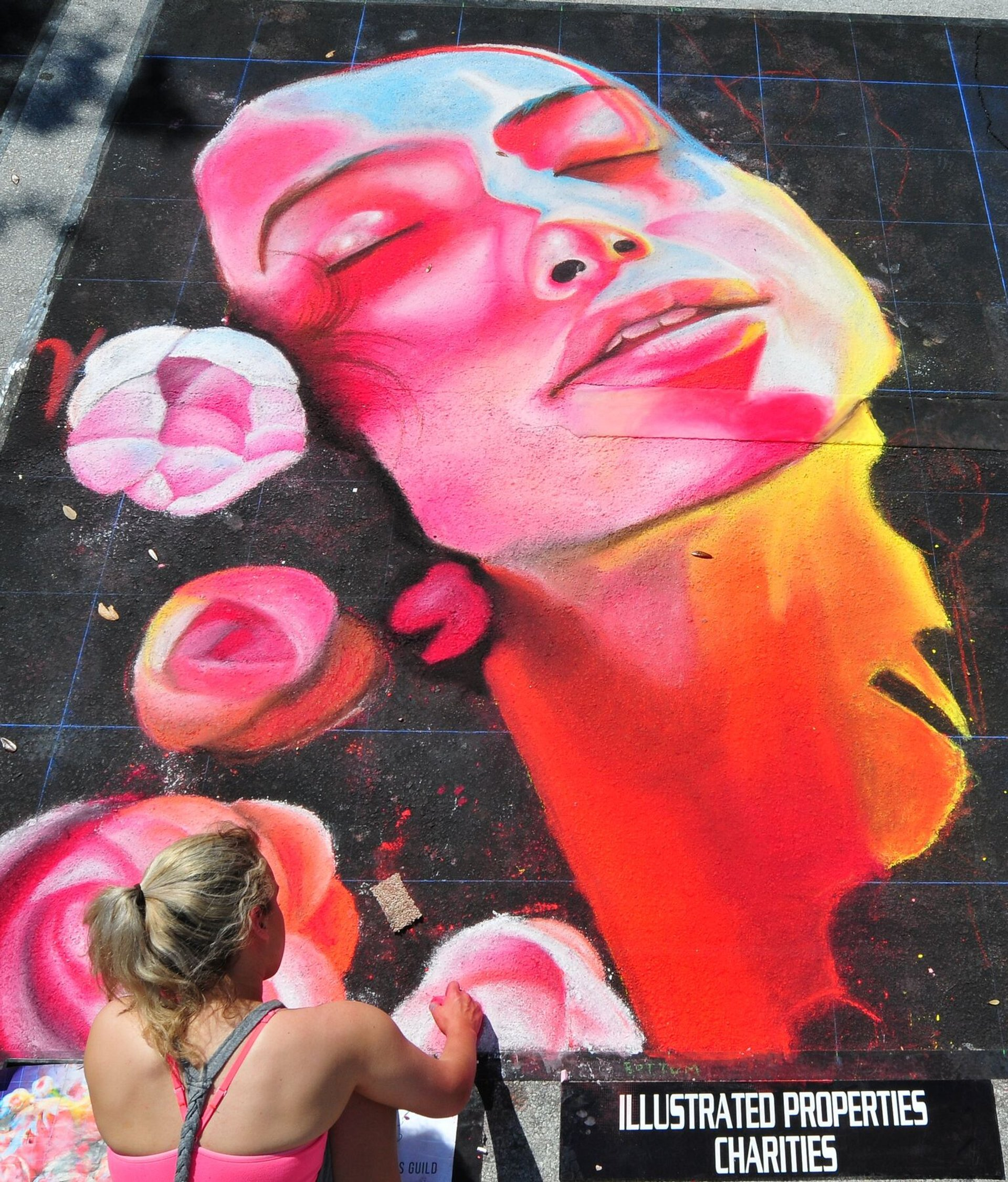 Lake Worth Street Painting Festival in Florida - Best Season 2020