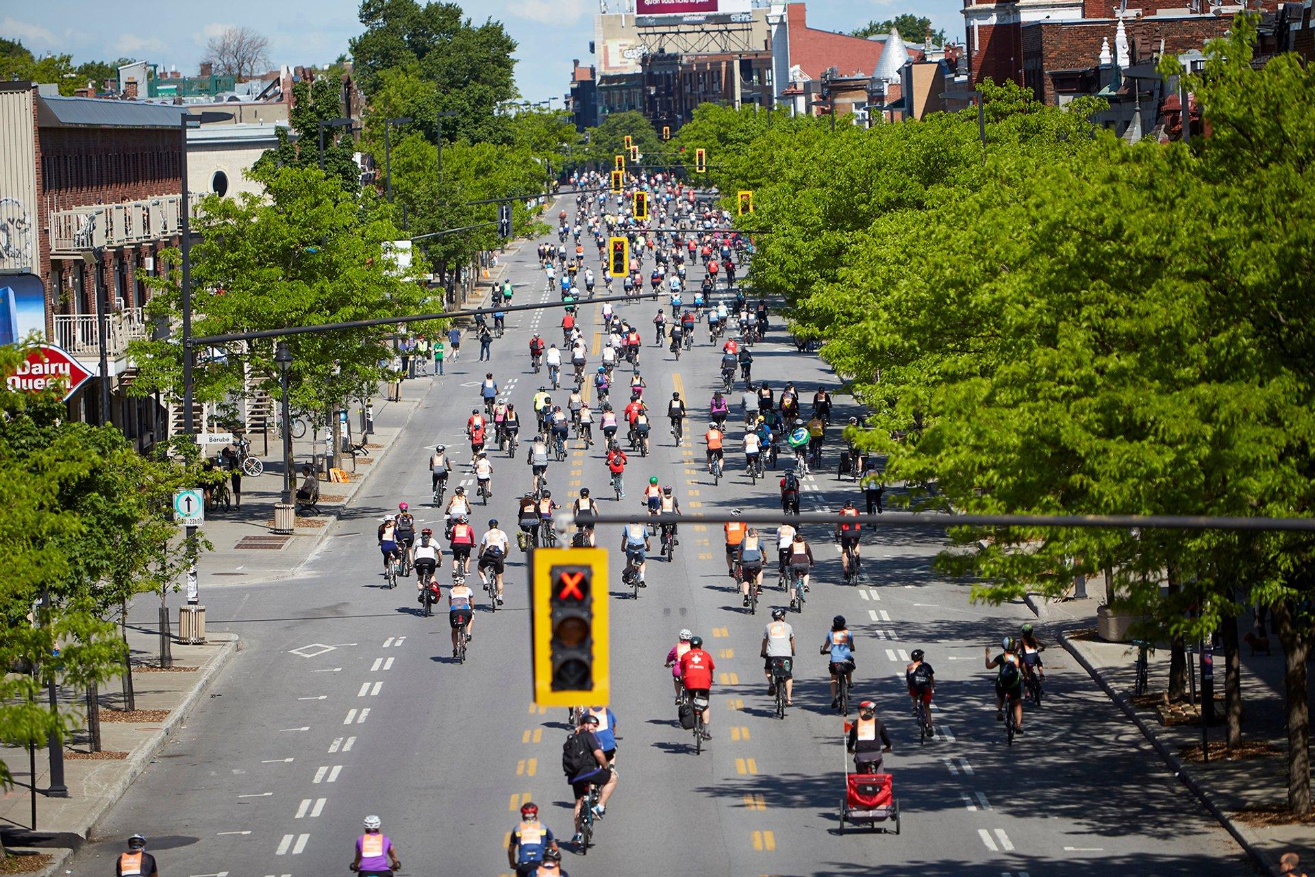 Best time to see Tour de l'Île de Montréal 2020