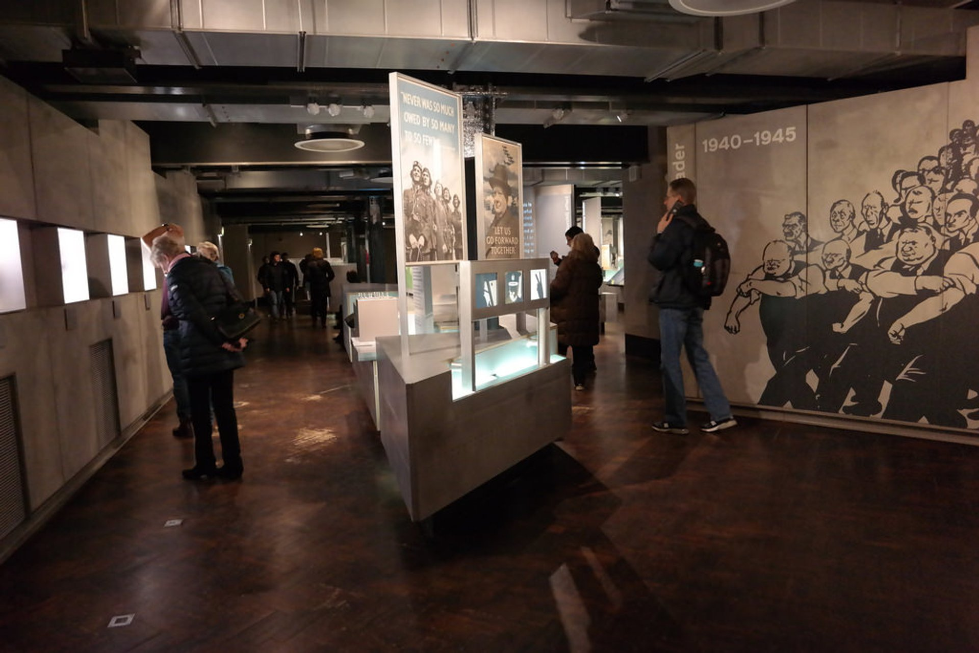 Best time to see Churchill War Rooms in London 2019