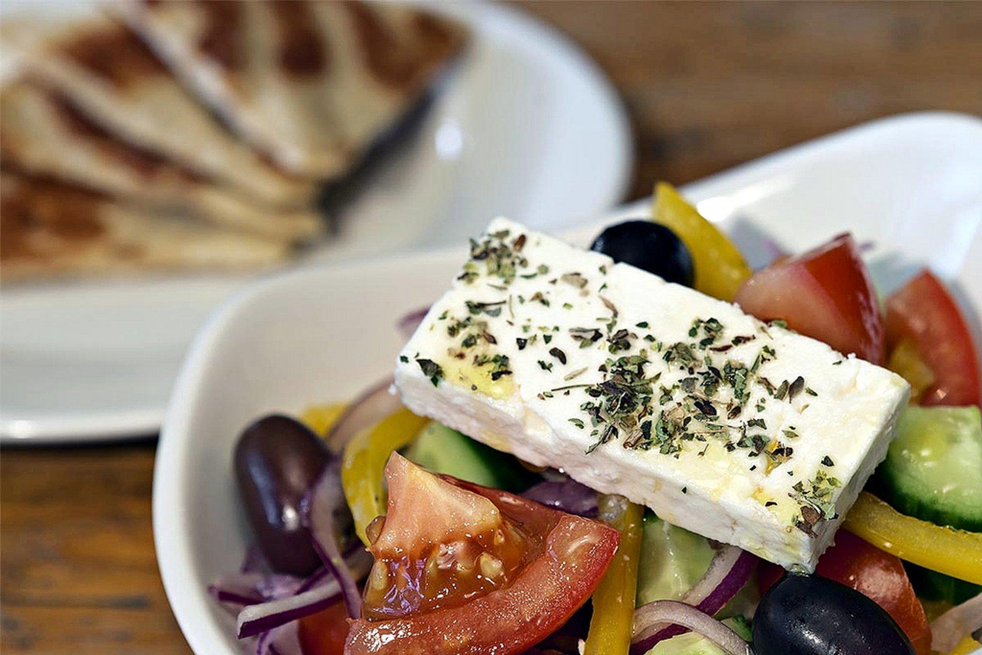 Horiatiki Salata in Athens - Best Time
