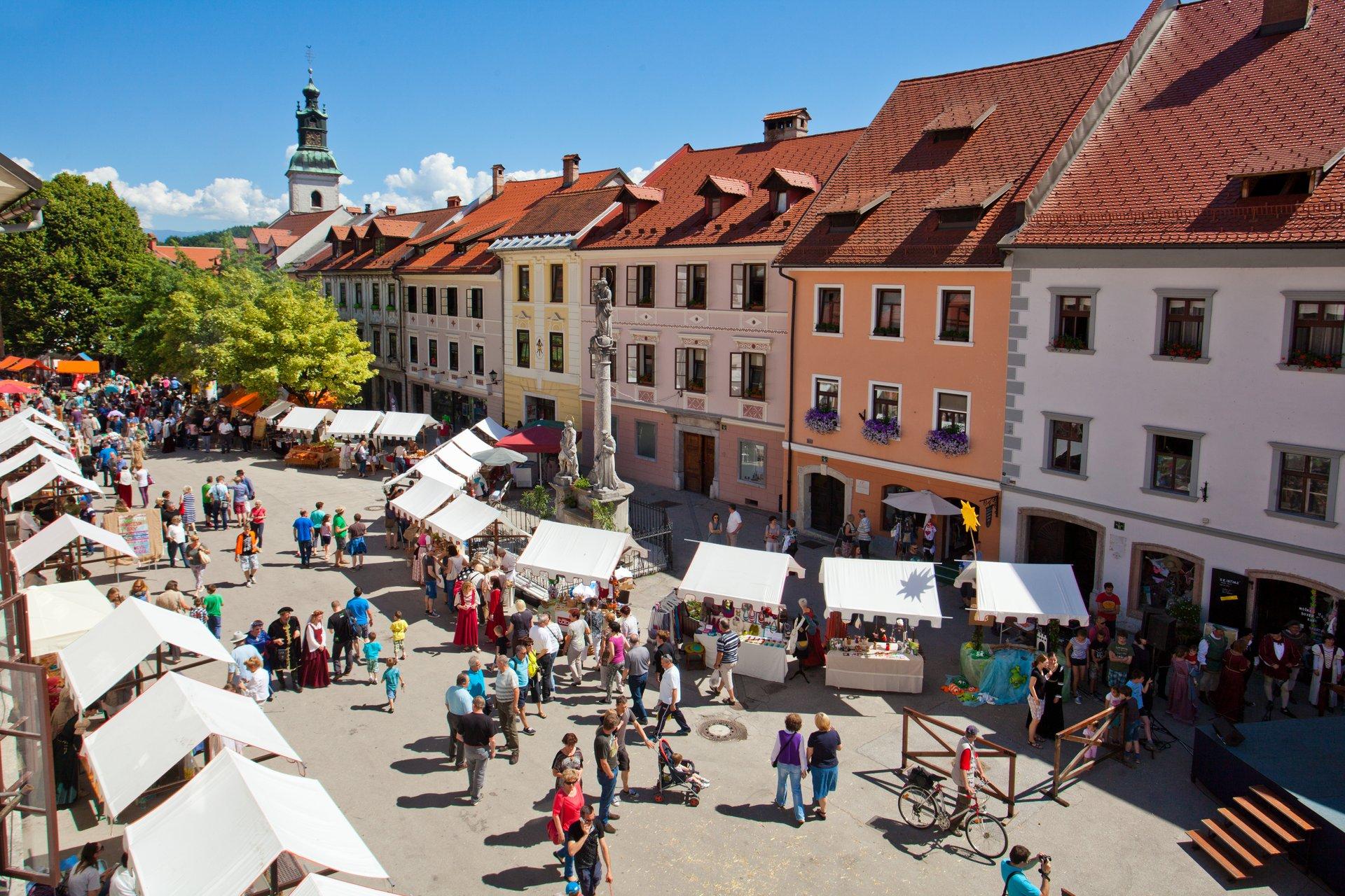 Best time to see Historial Škofja Loka in Slovenia 2020
