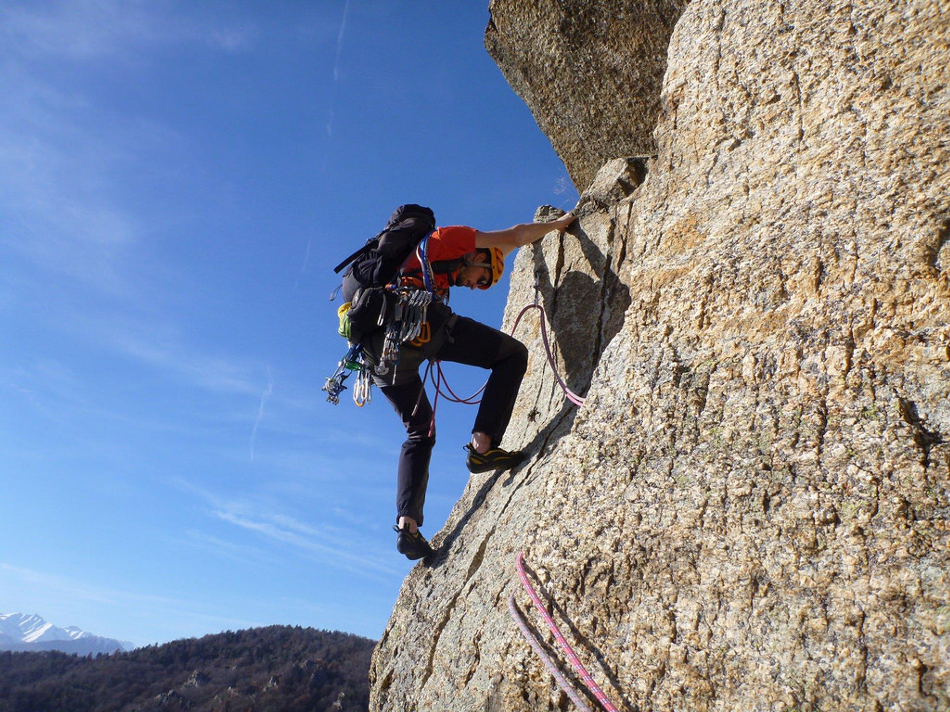 Rock Climbing in Italy - Best Season 2020