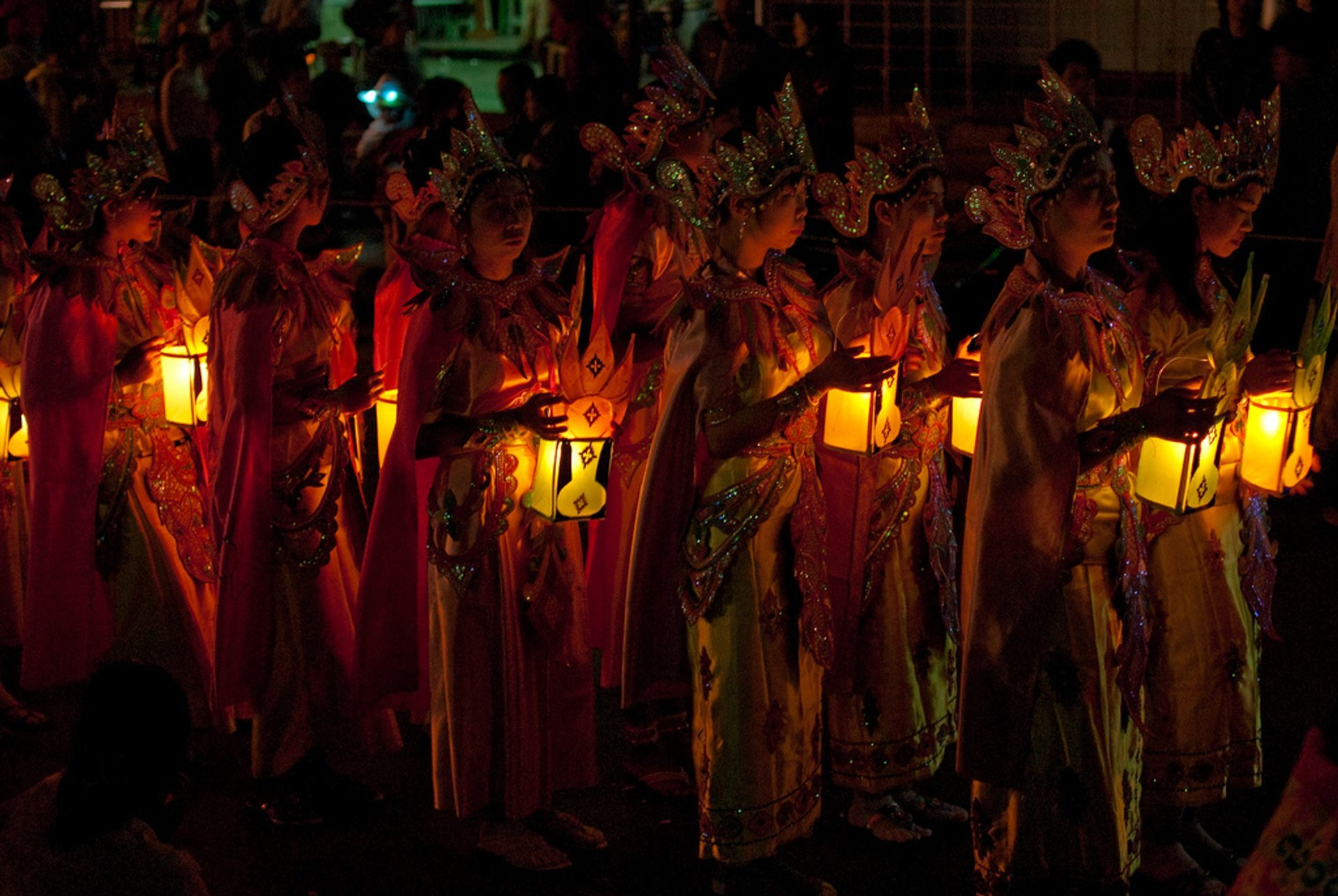 Light procession in Taunggyi 2020