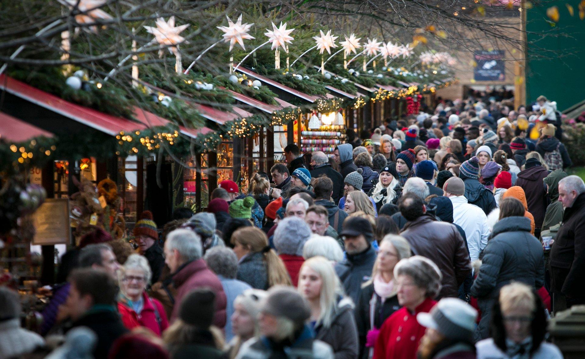 Edinburgh Christmas Market in Edinburgh 2019 - Best Time