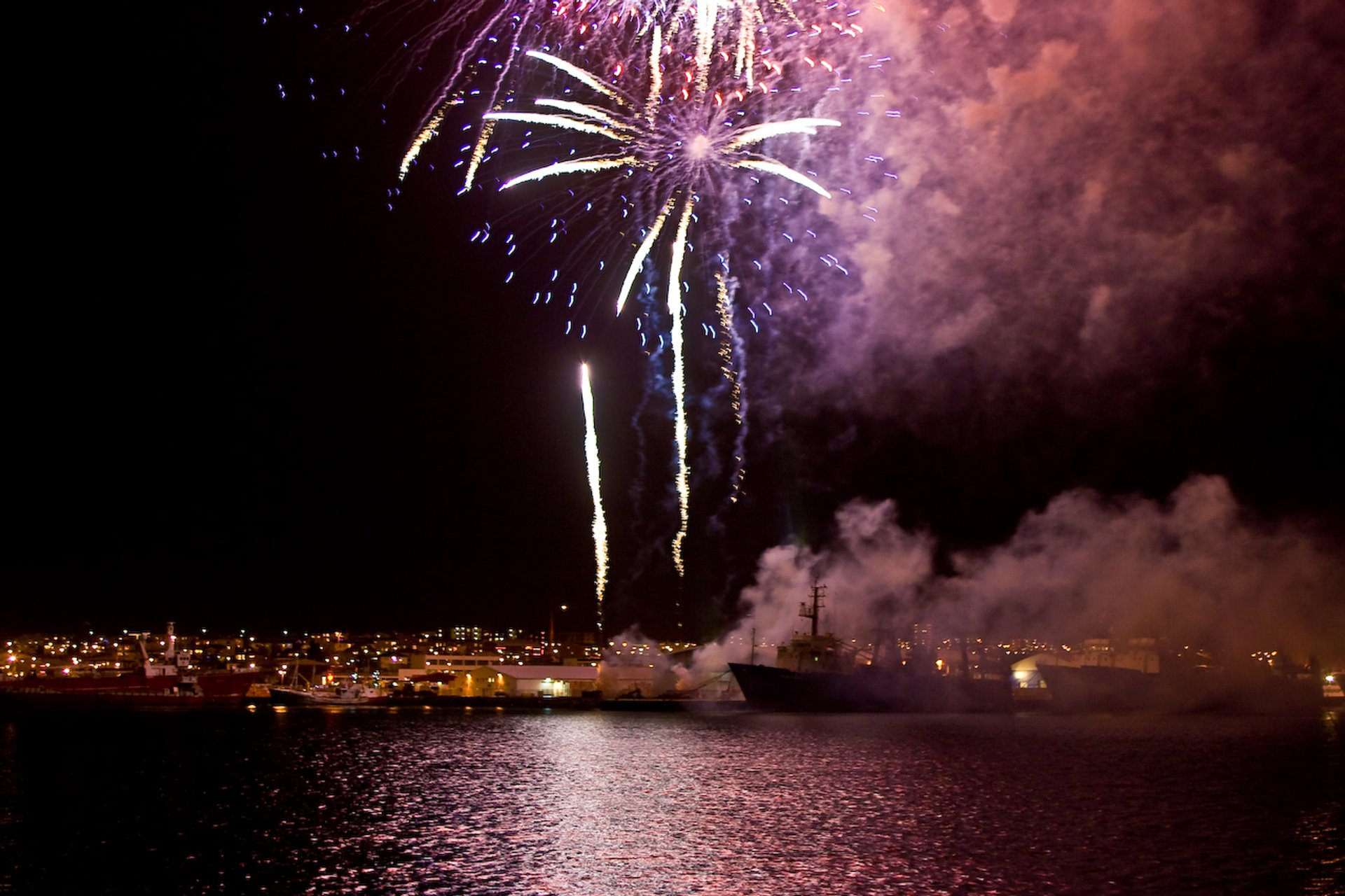New Year's Eve Fireworks in Reykjavik 2020 - Best Time