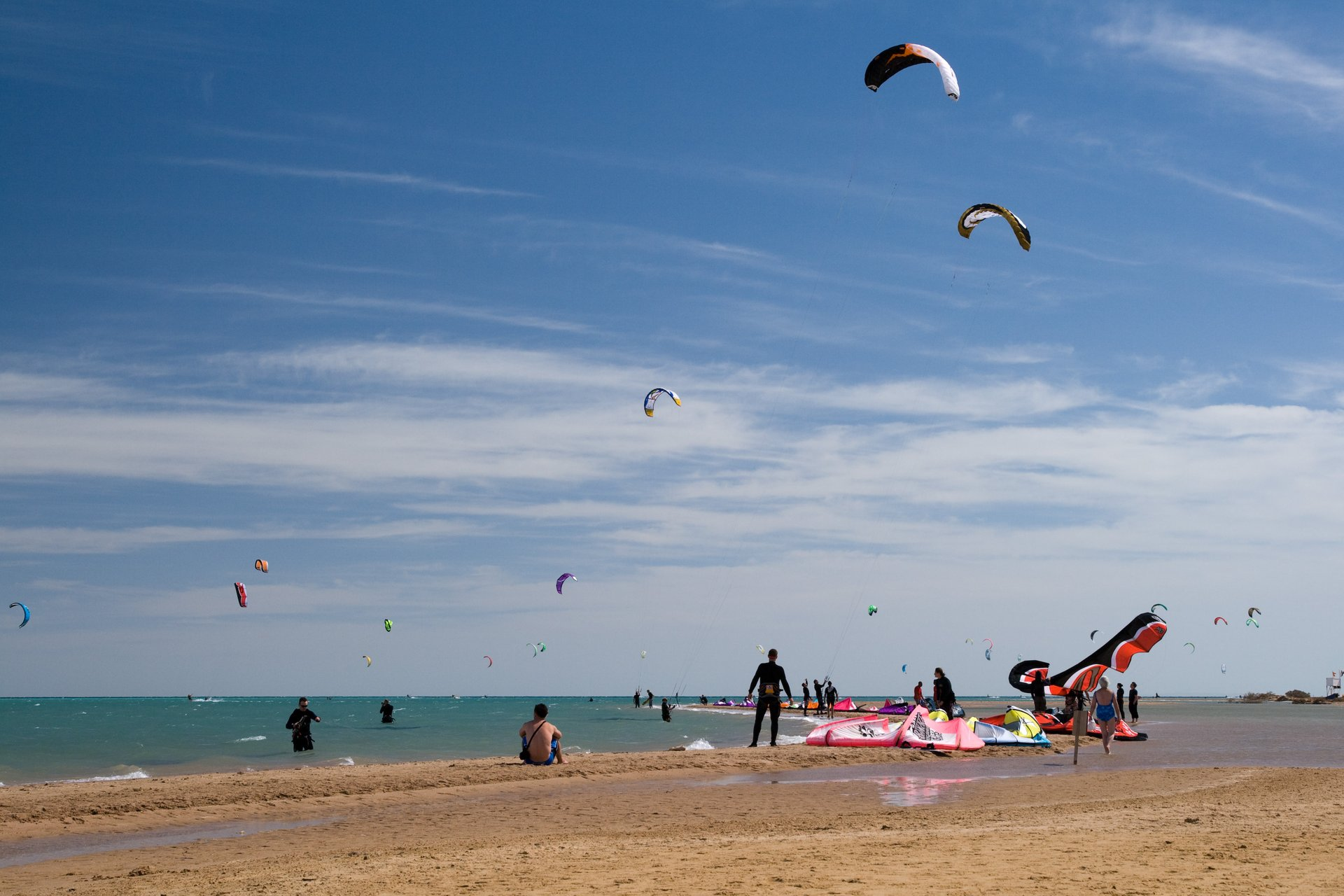 Kitesurfing in El Gouna in Egypt - Best Season 2020