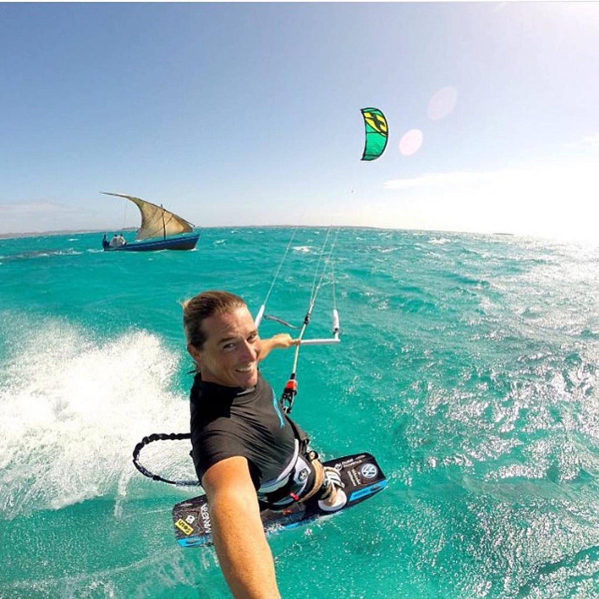 Kitesurfing in Madagascar - Best Season 2020