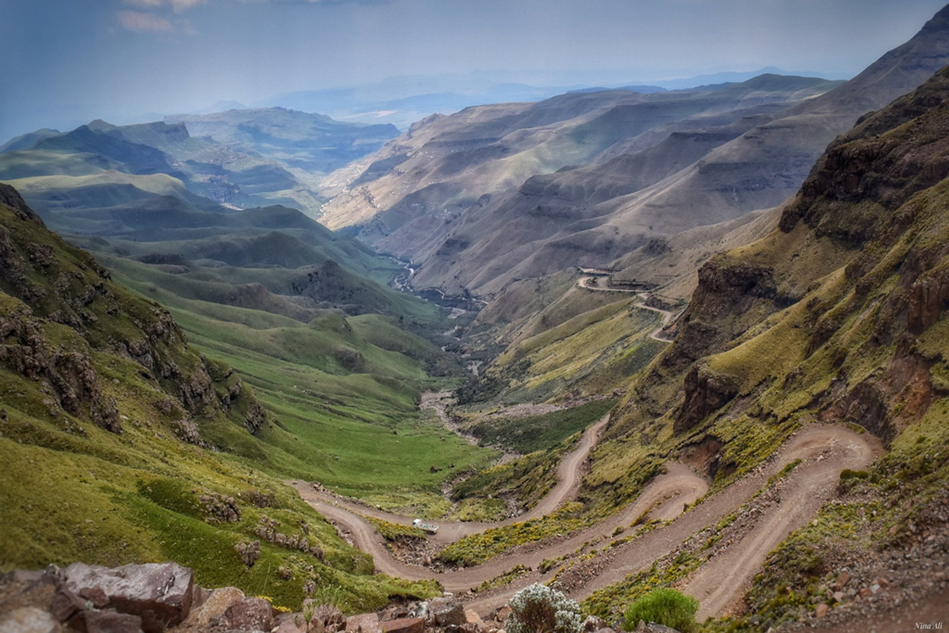 Best time to see Sani Pass Road in South Africa 2019