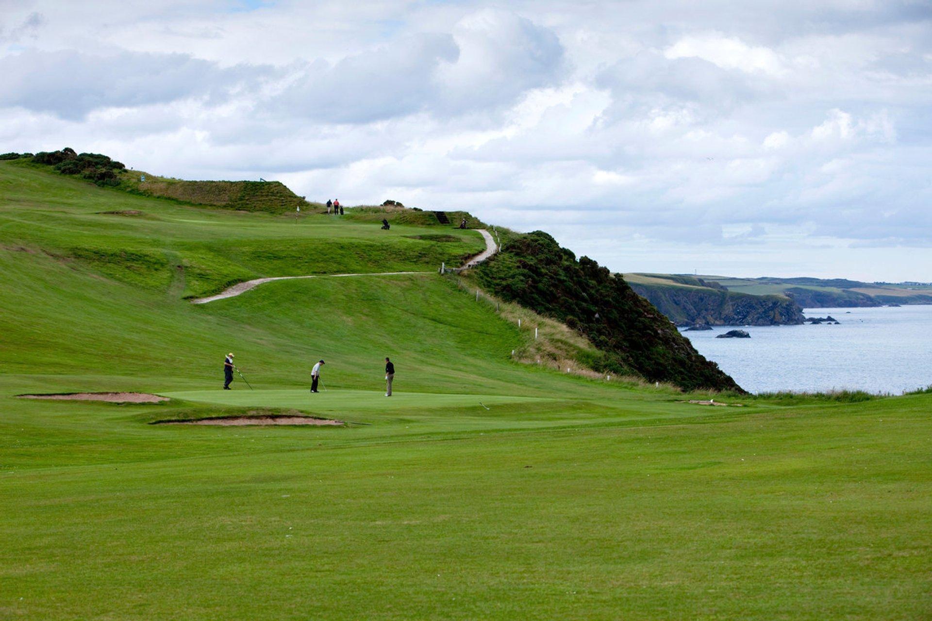 Stonehaven Golf Club, Stonehaven, Aberdeenshire 2020