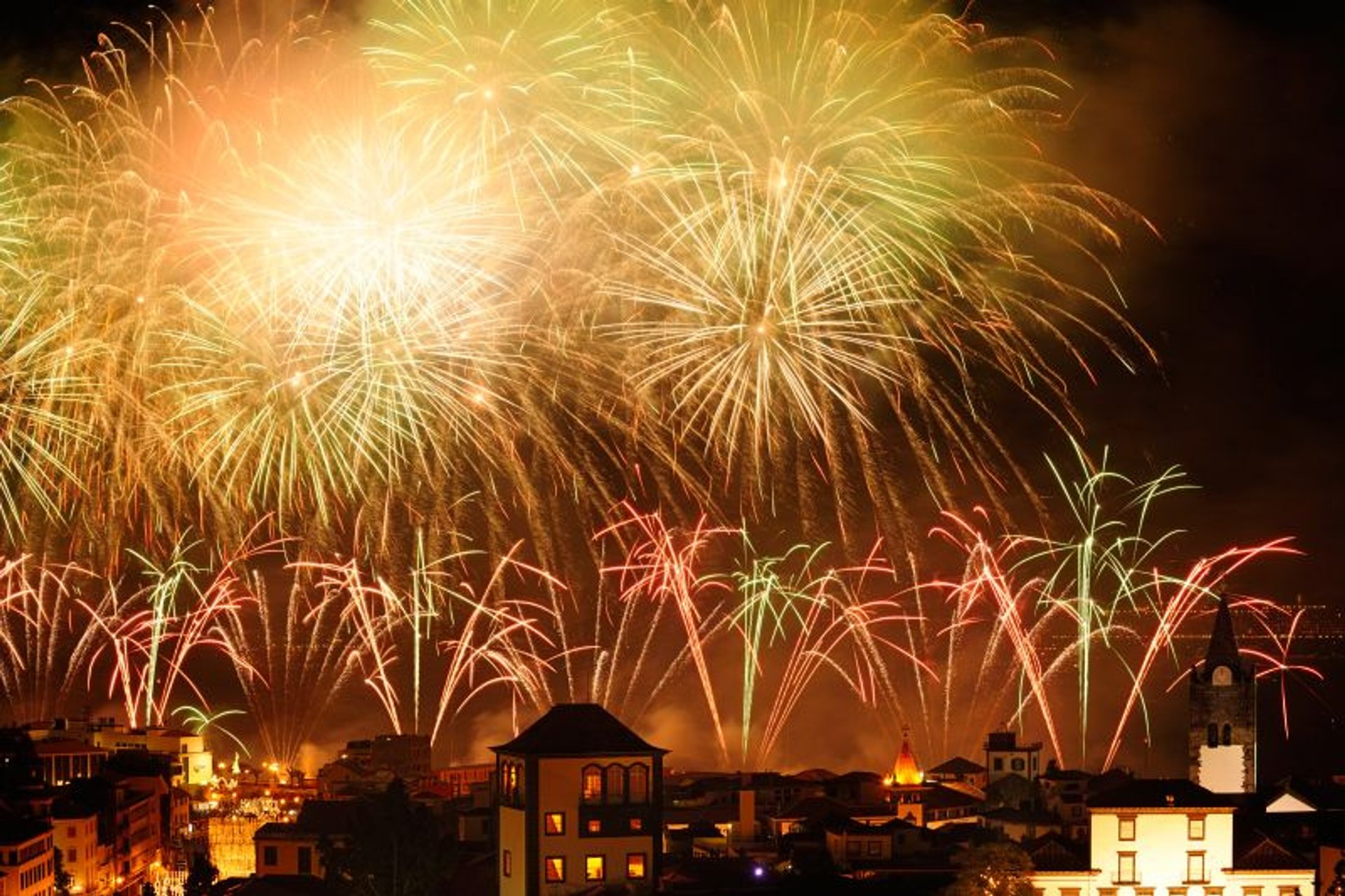New Year's Fireworks in Madeira 2020 - Best Time