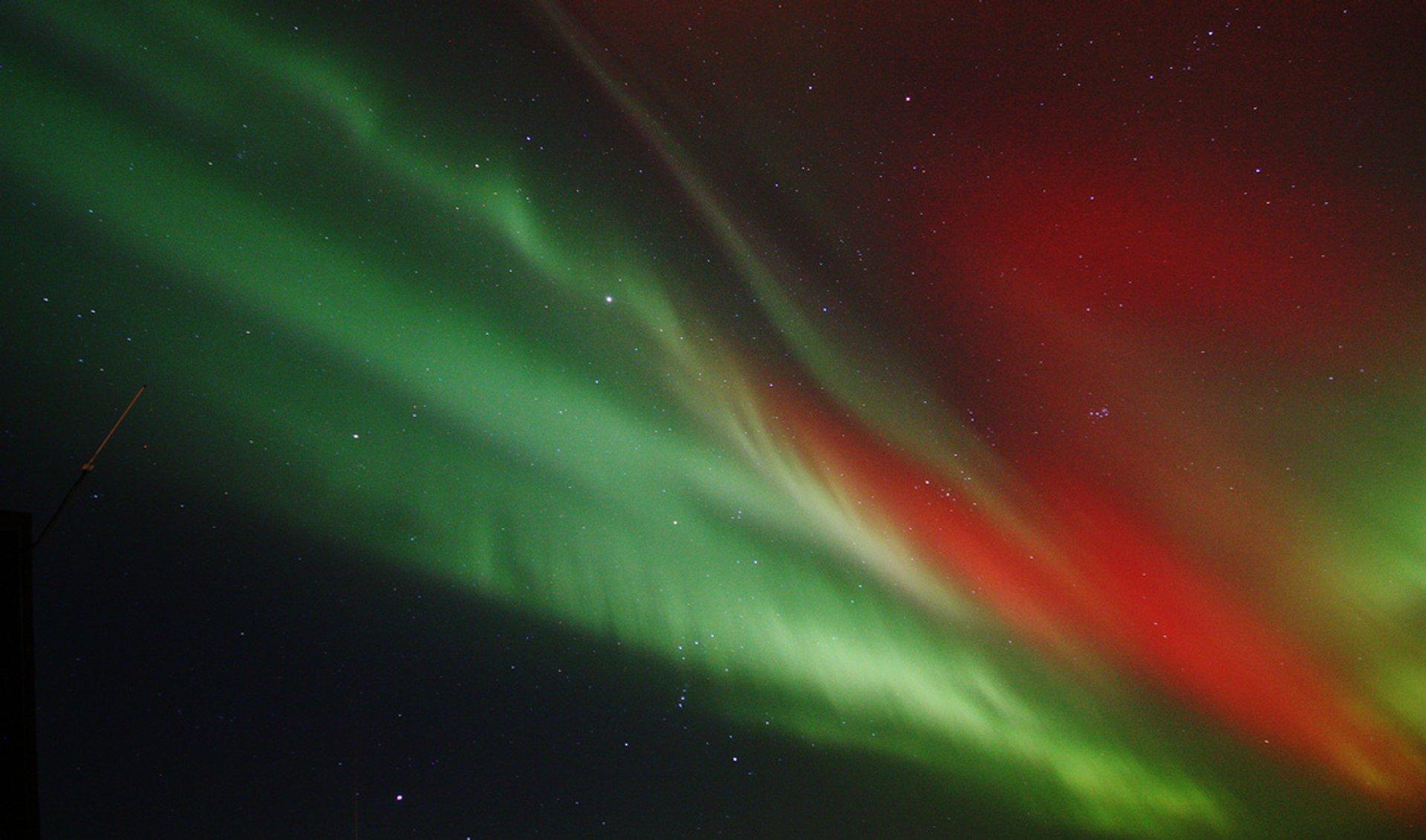 Aurora from Scatness, Scotland 2020