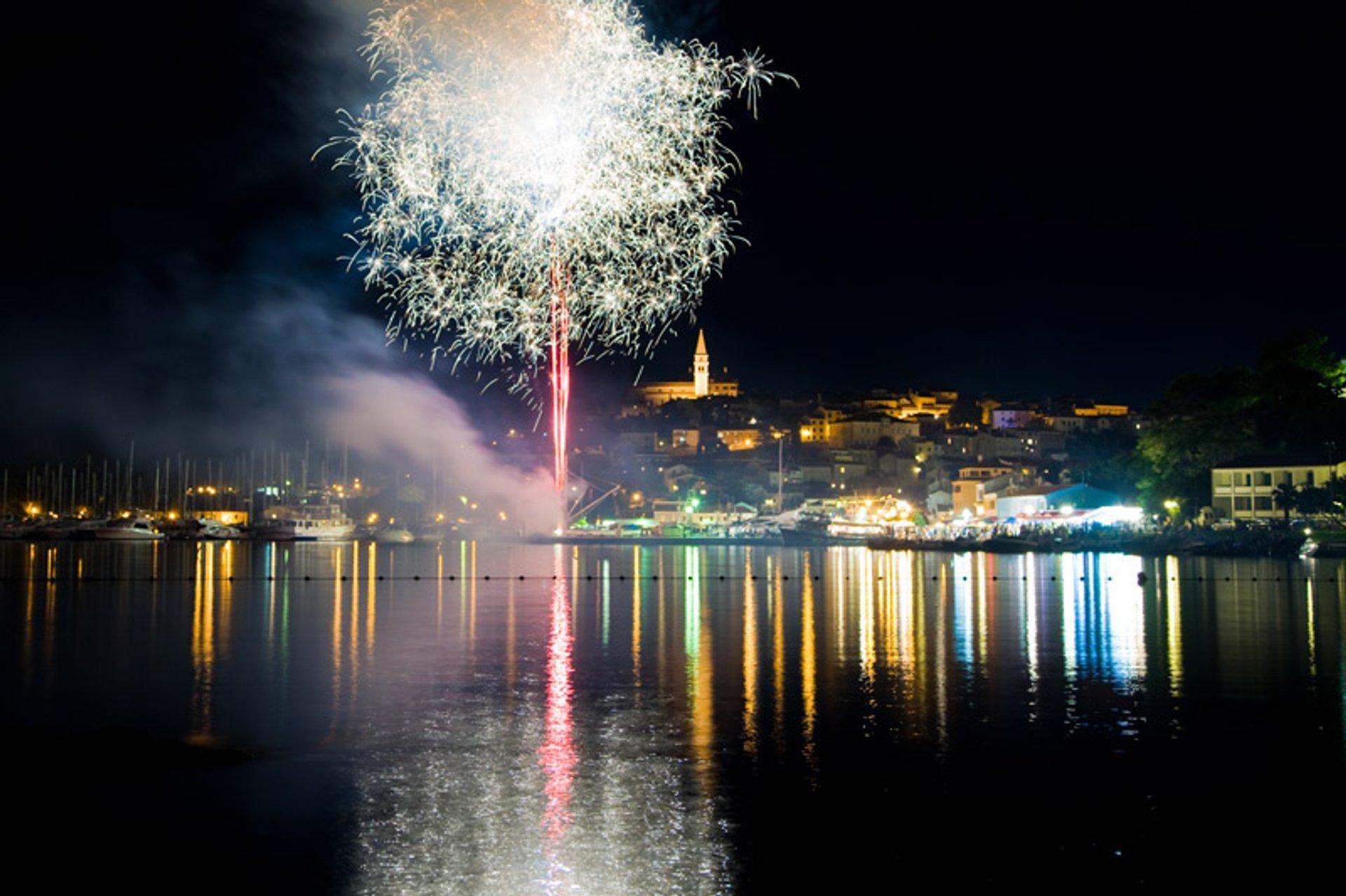 Best time for Ribarska Festa in Croatia 2020