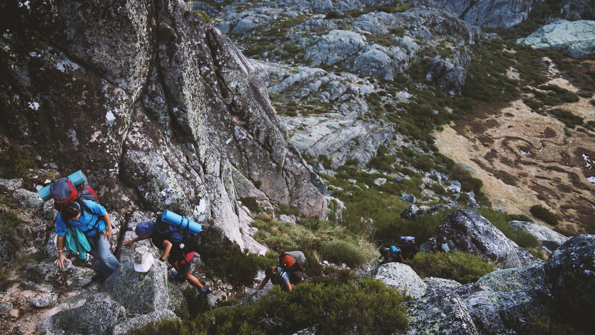 Hiking in Parque Natural da Serra da Estrela in Portugal 2020 - Best Time