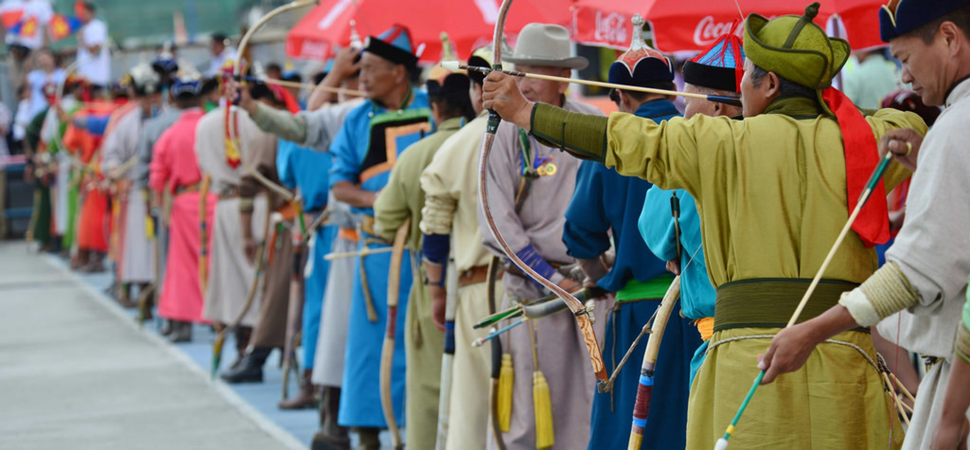 Naadam Archery Competition 2020