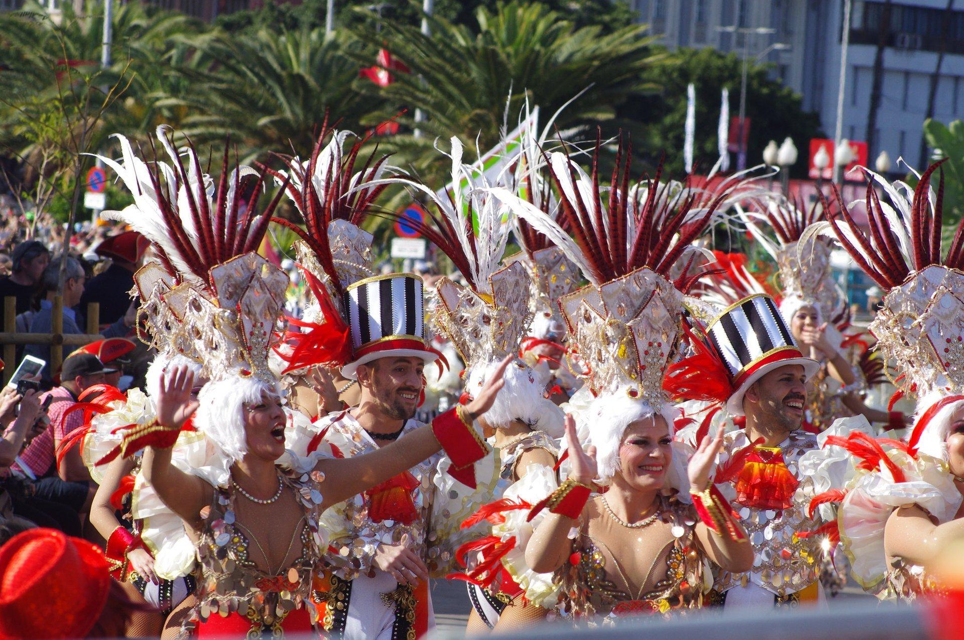 Best time for Santa Cruz de Tenerife Carnival in Canary Islands 2020