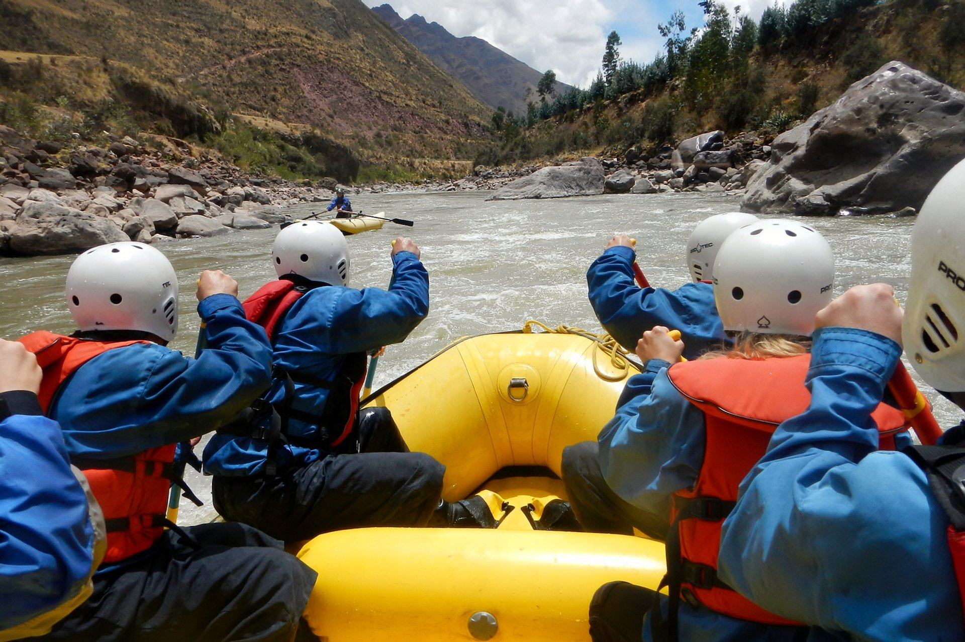 Rafting Season in Machu Picchu and Cusco - Best Season 2020