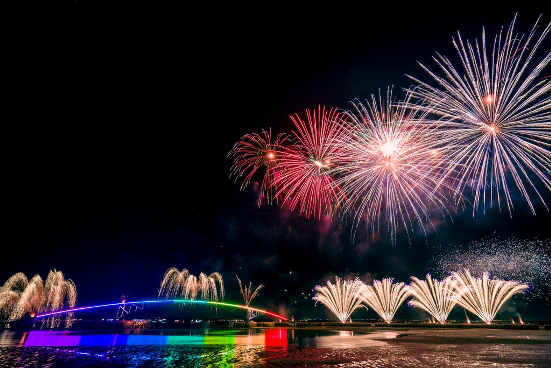 Penghu Fireworks Festival in Taiwan - Best Season 2020
