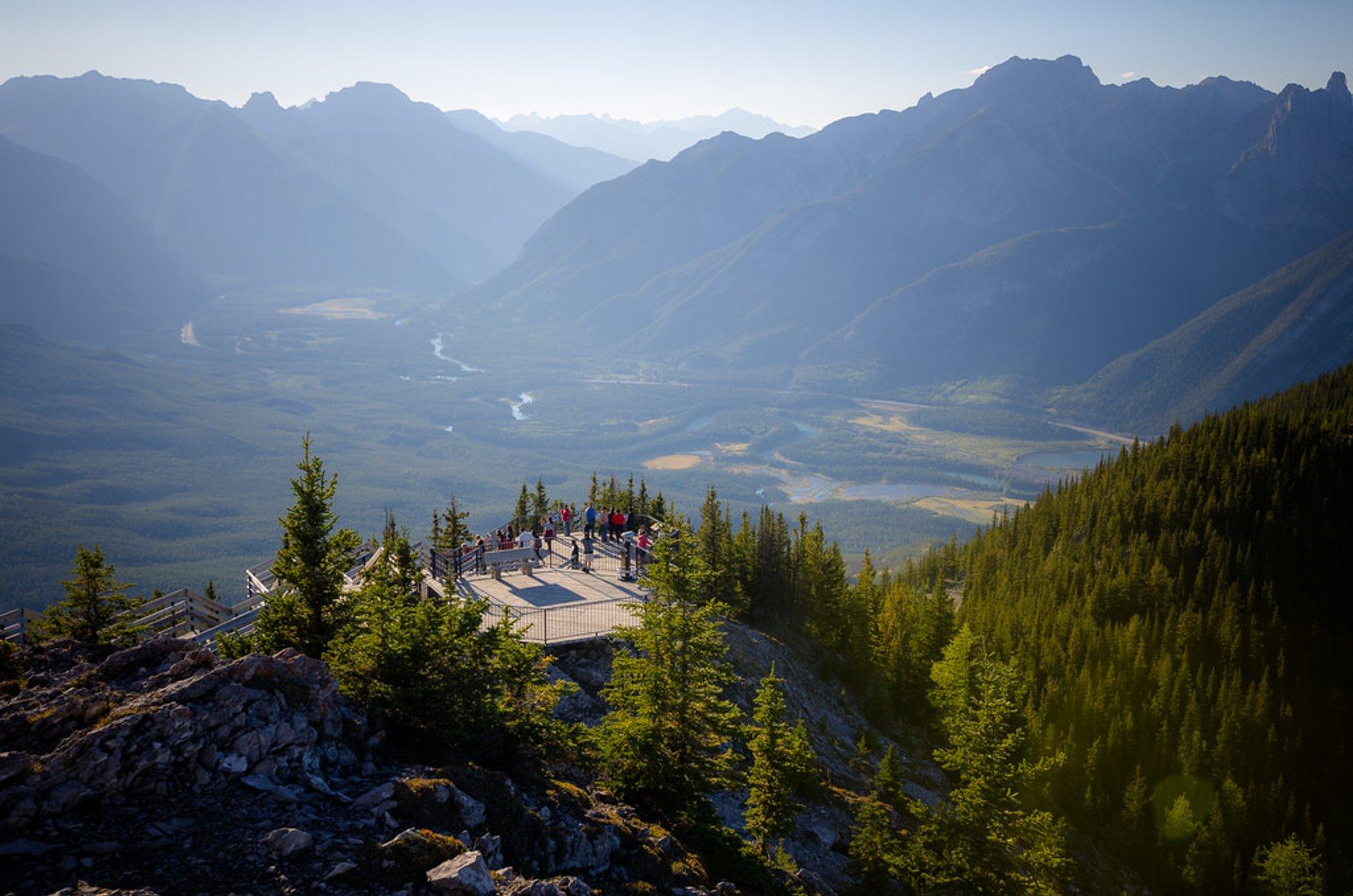 Best time to see Banff Gondola in Banff & Jasper National Parks 2020